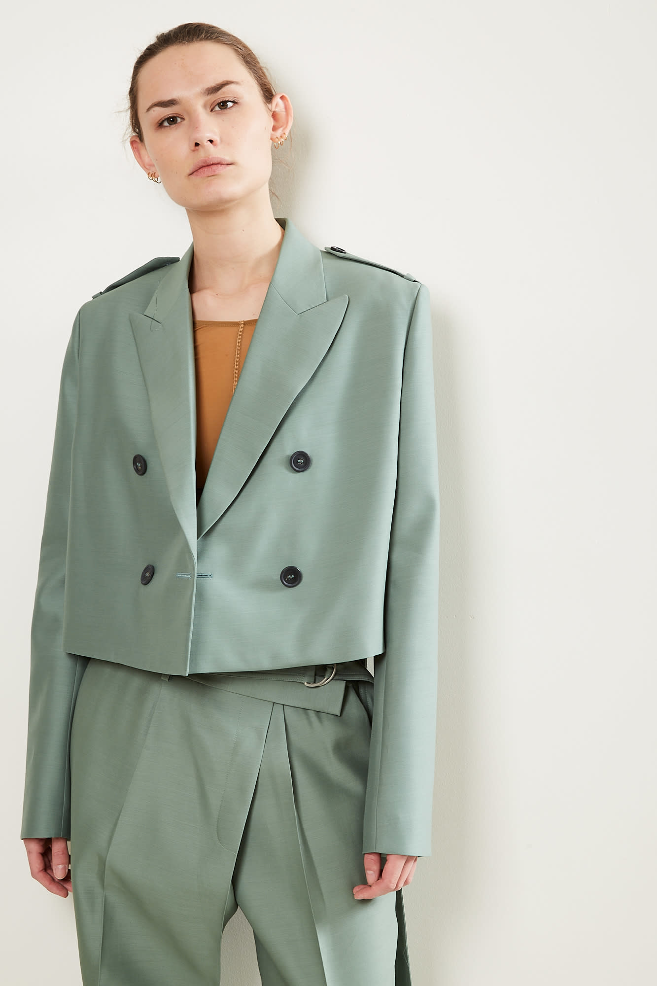 Helmut Lang Cropped blazer