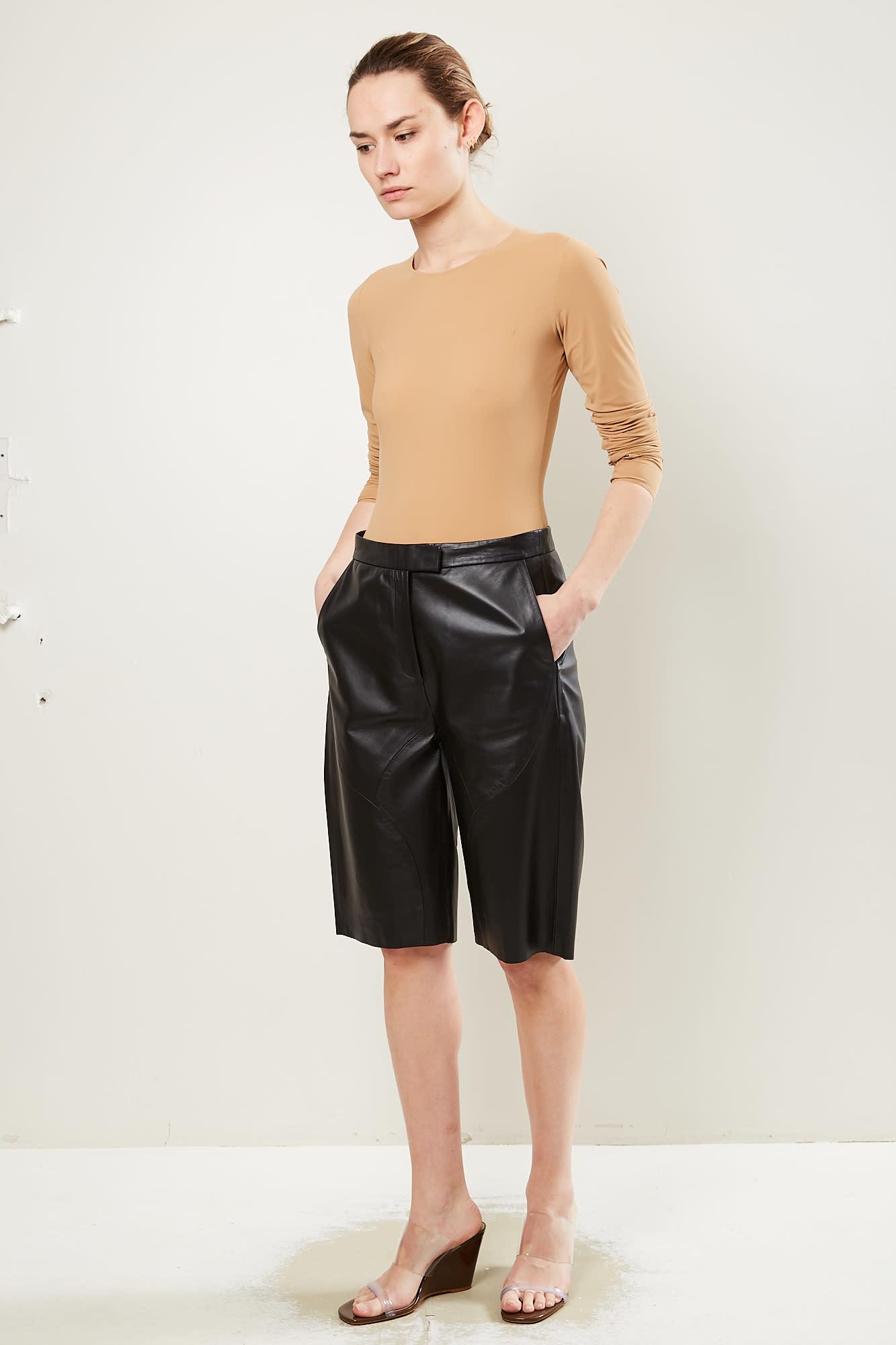 Frenken Point leather short