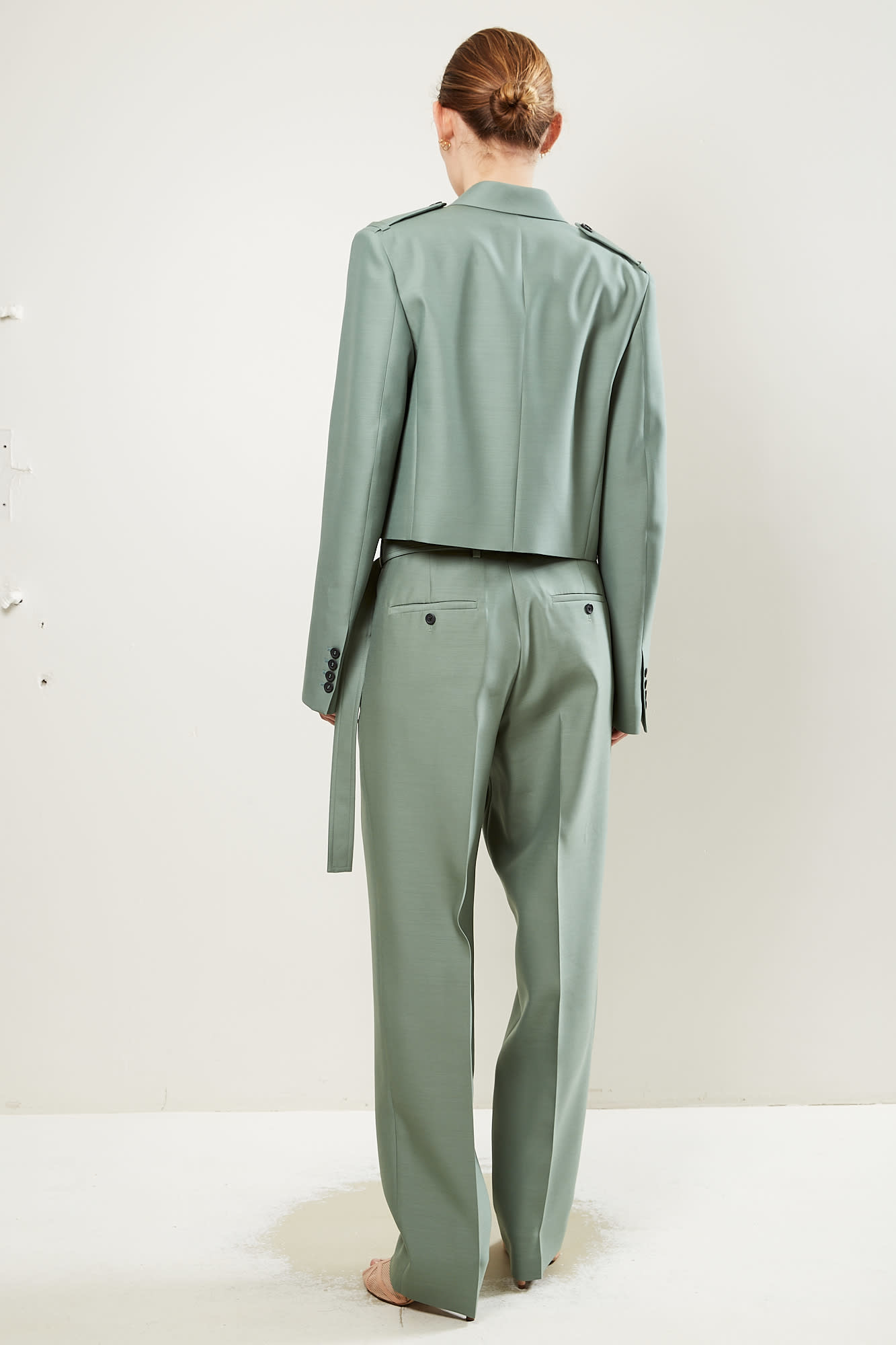 Helmut Lang - Silk wrap pant