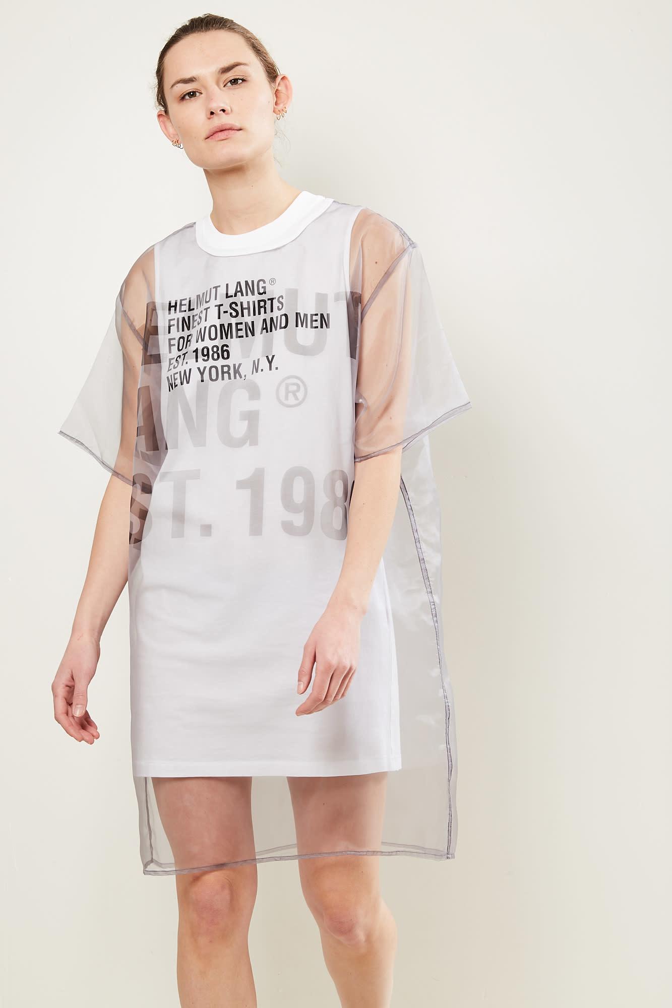Helmut Lang Tee dress