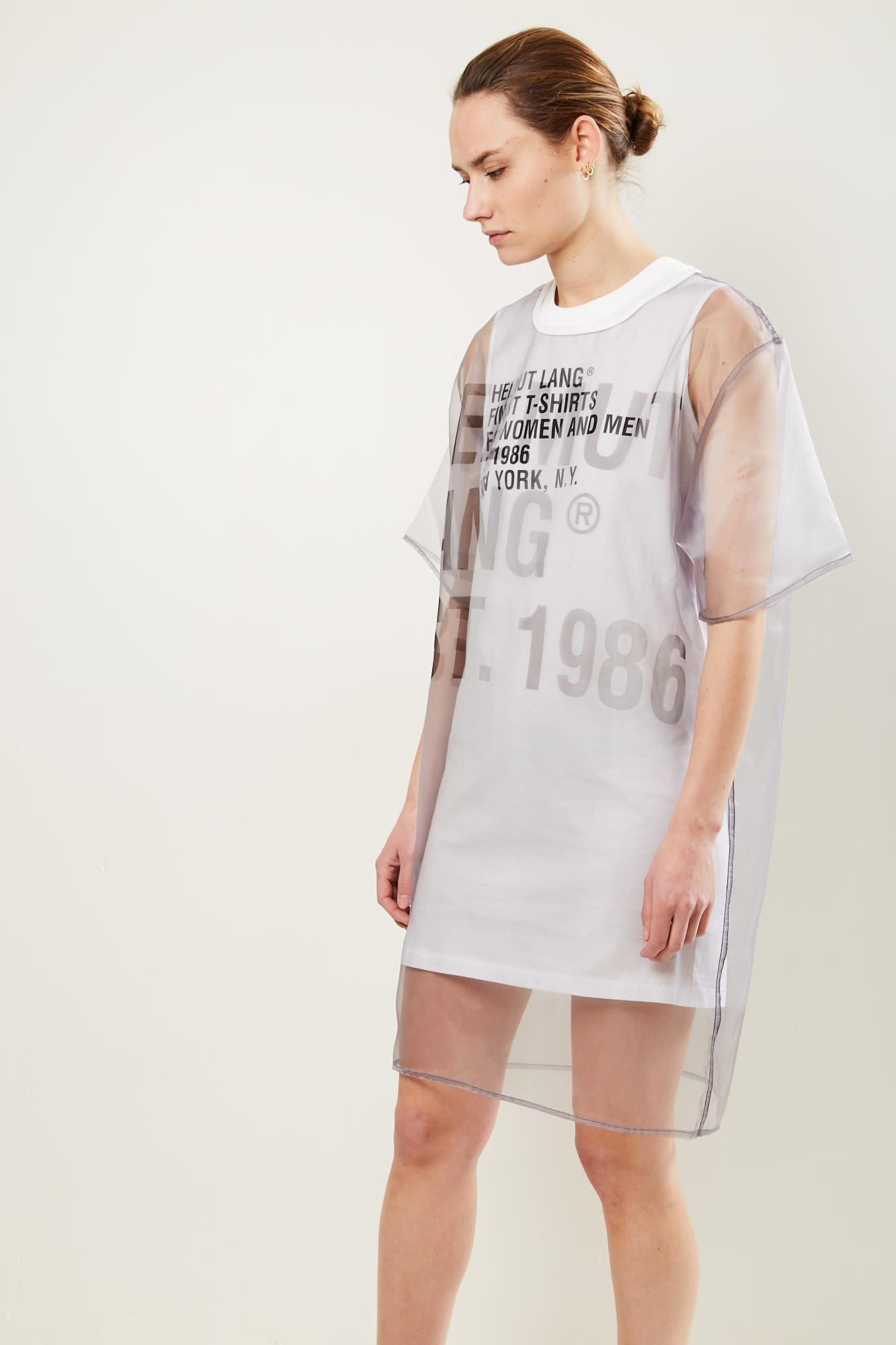 Helmut Lang - Helmut Lang Tee dress