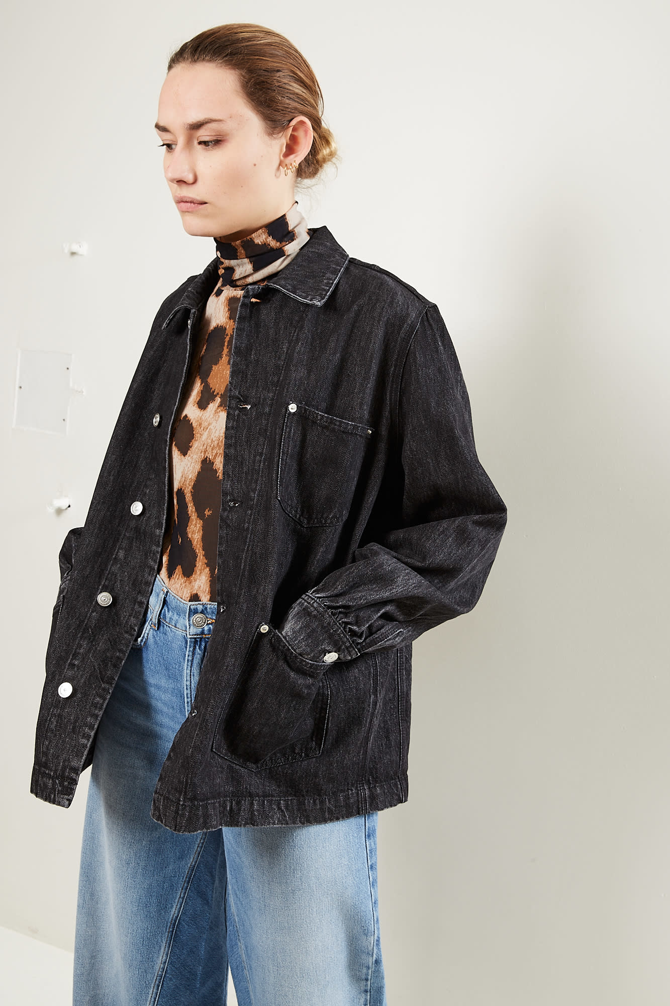 Ganni Washed denim jacket
