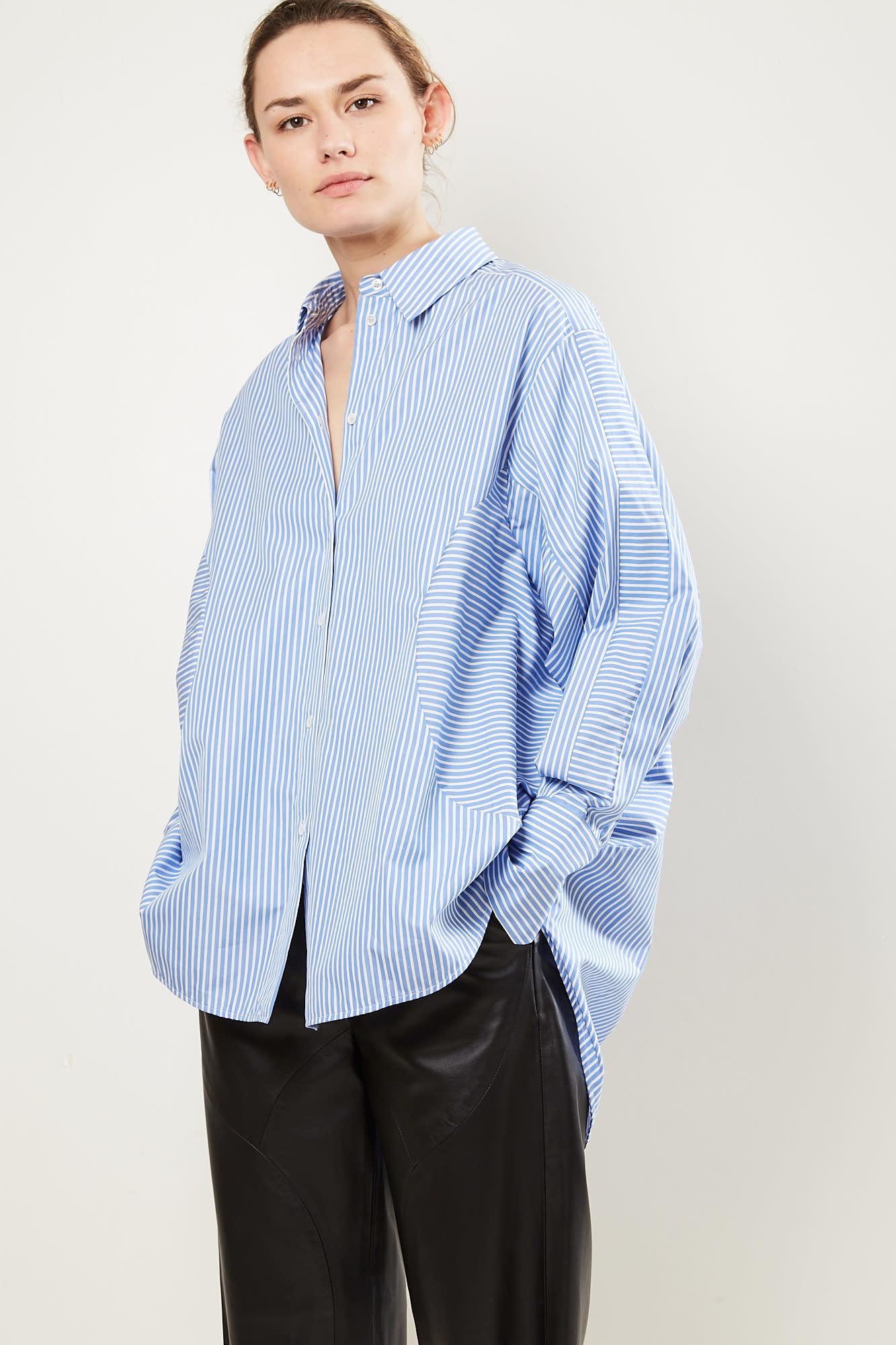 Frenken Inlander poplin stripe shirt