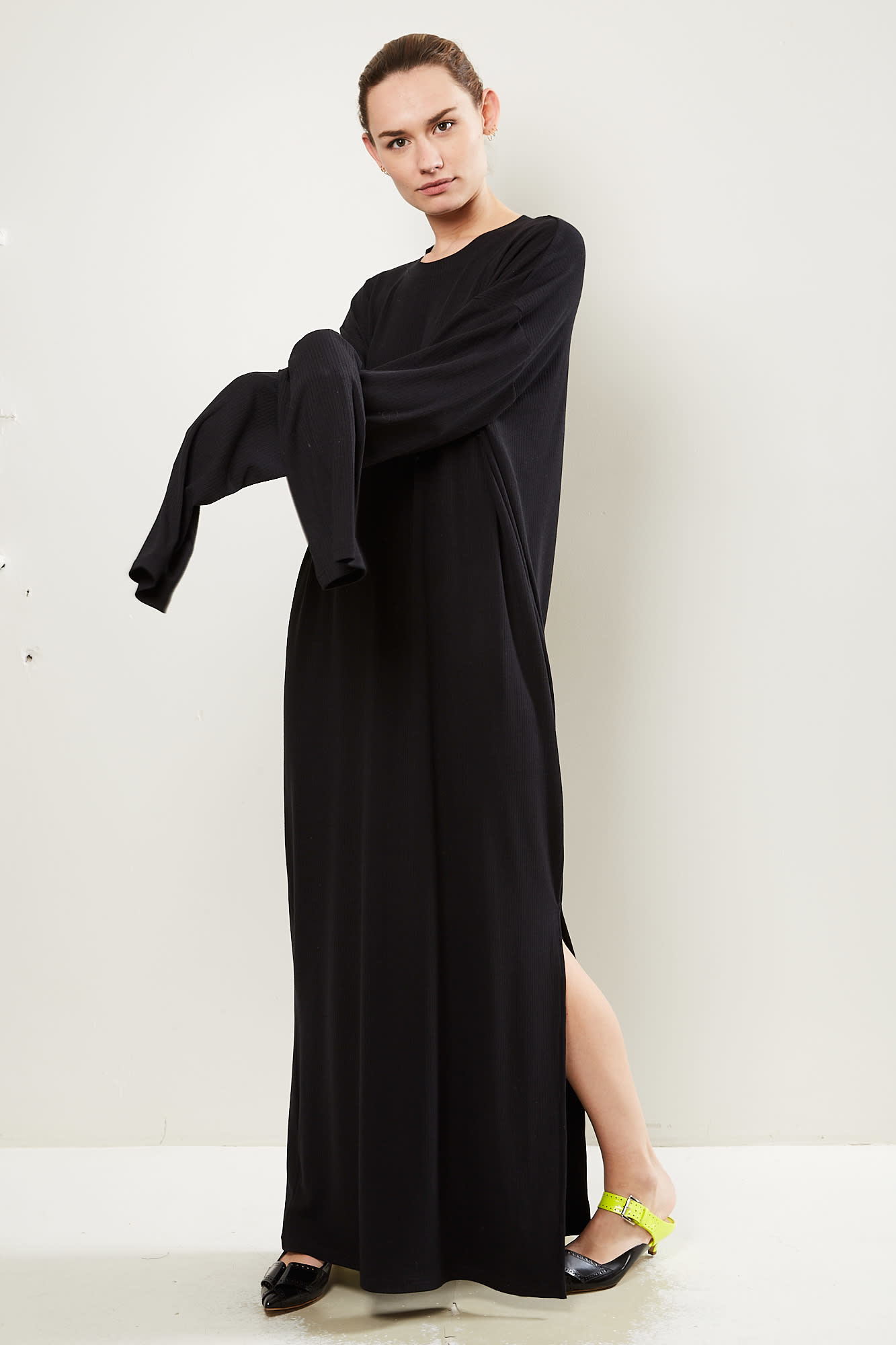 Monique van Heist Lol split rib dress