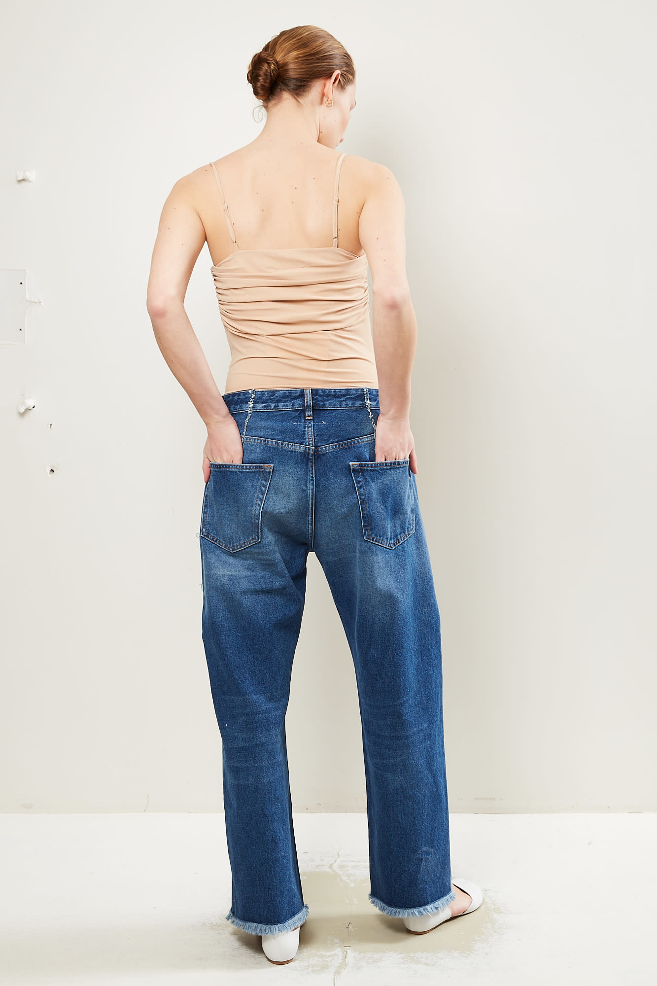 MM6 - Garment Dyed vintage wash pant