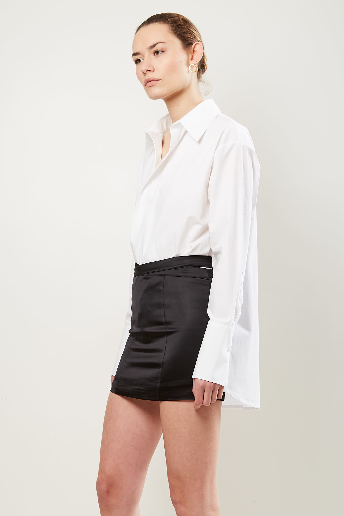 Gauge81 - Monteria mini skirt with waist detailing