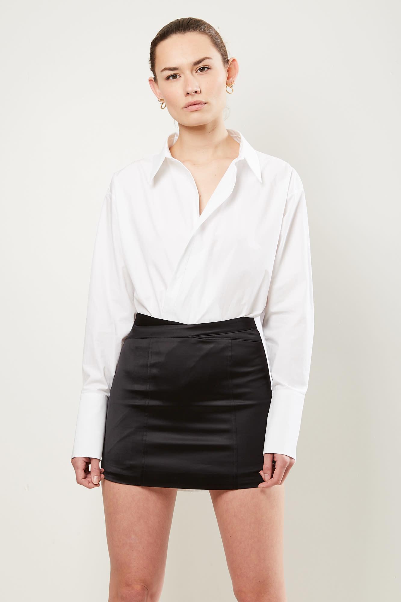 Gauge81 Monteria mini skirt with waist detailing