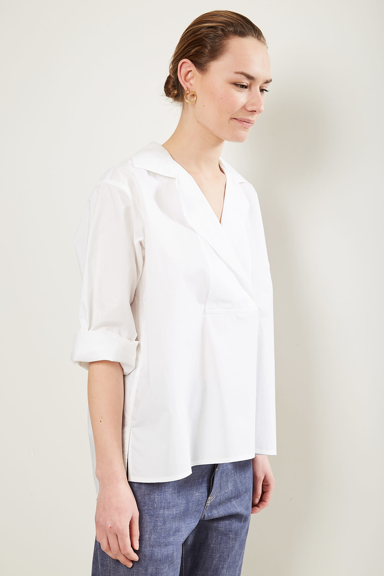 Sofie d'Hoore - Bailey cotton poplin shirt