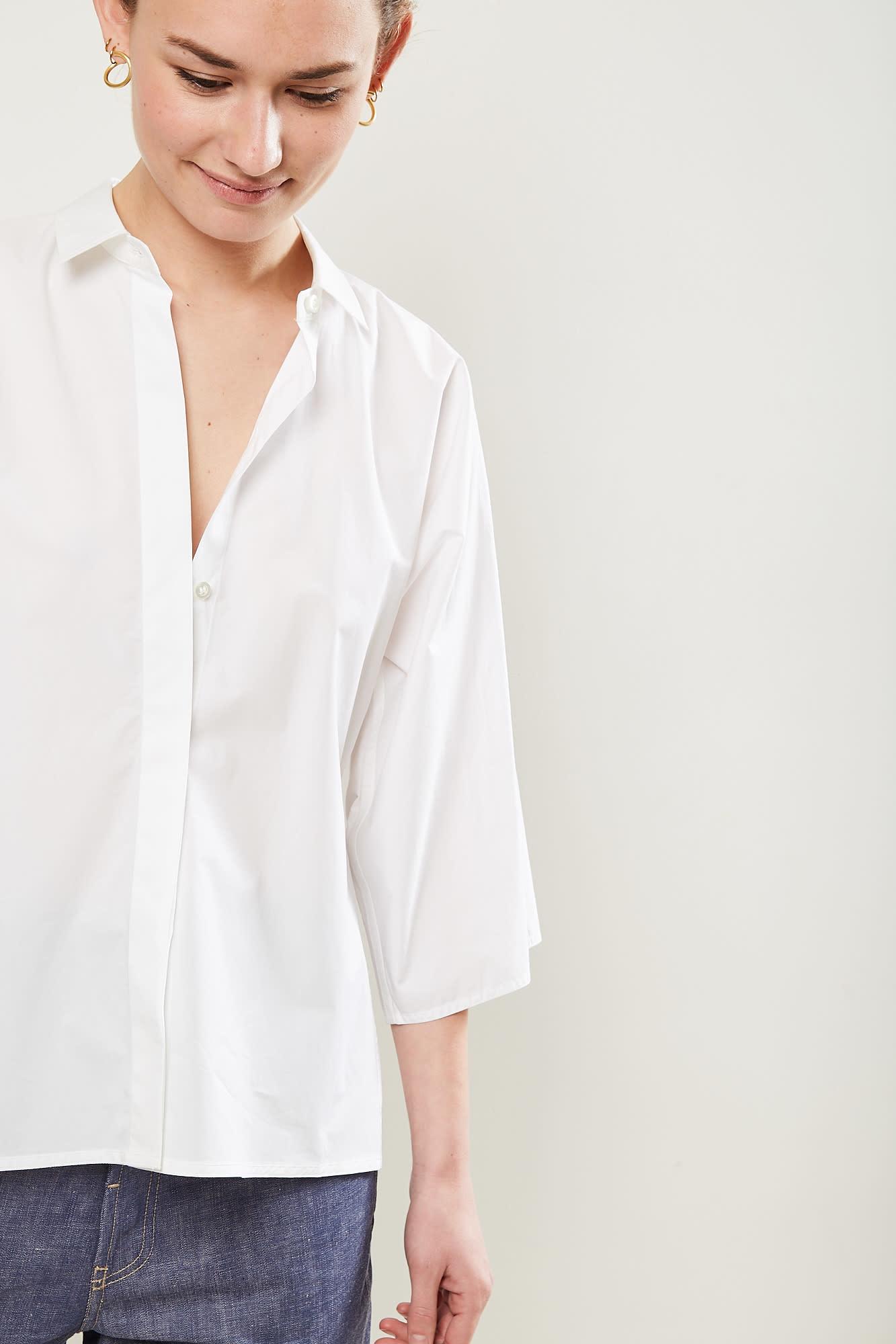 Sofie d'Hoore - bling cotton poplin shirt