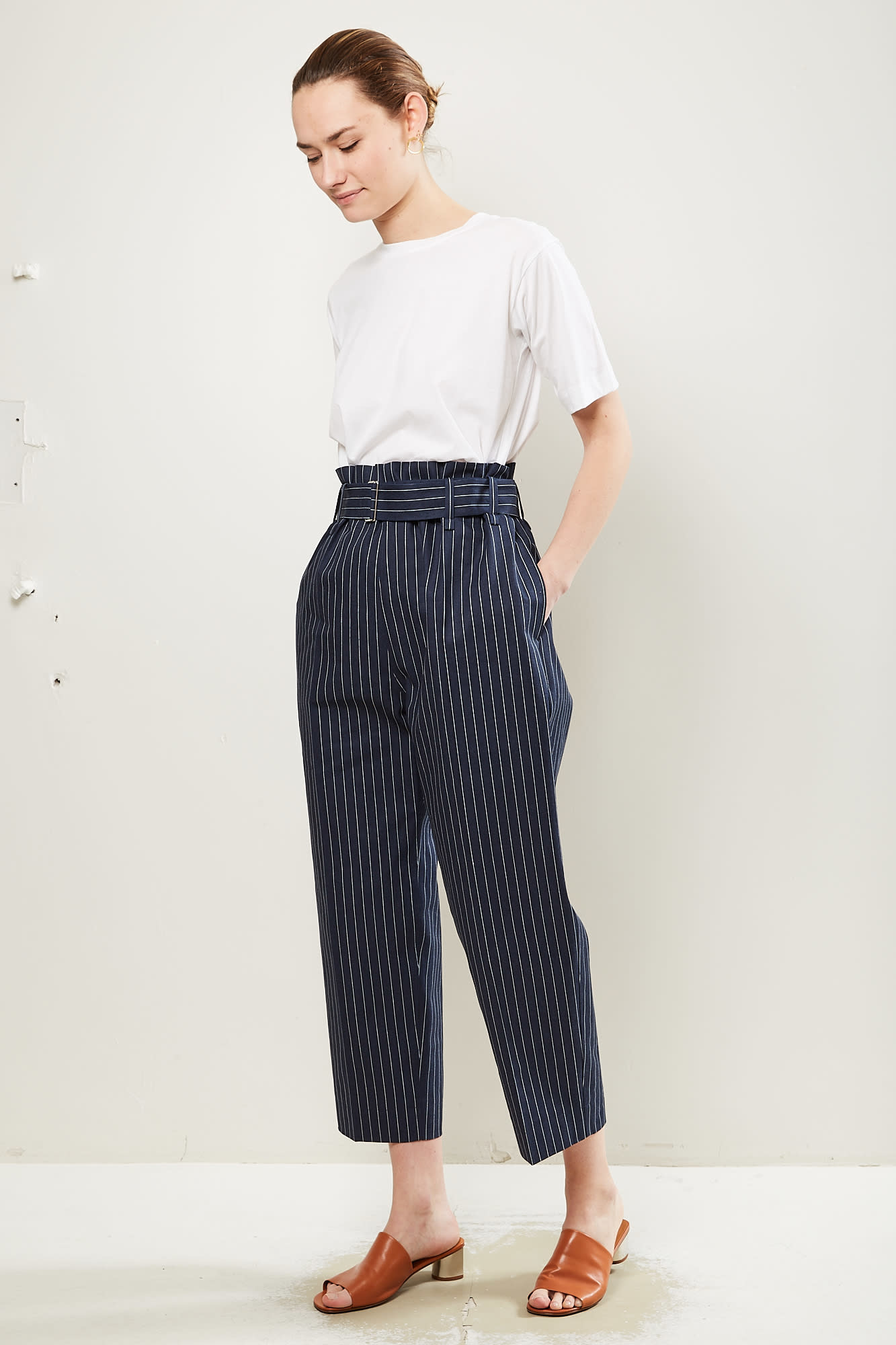 Sofie d'Hoore Pride twill cotton hickory pants