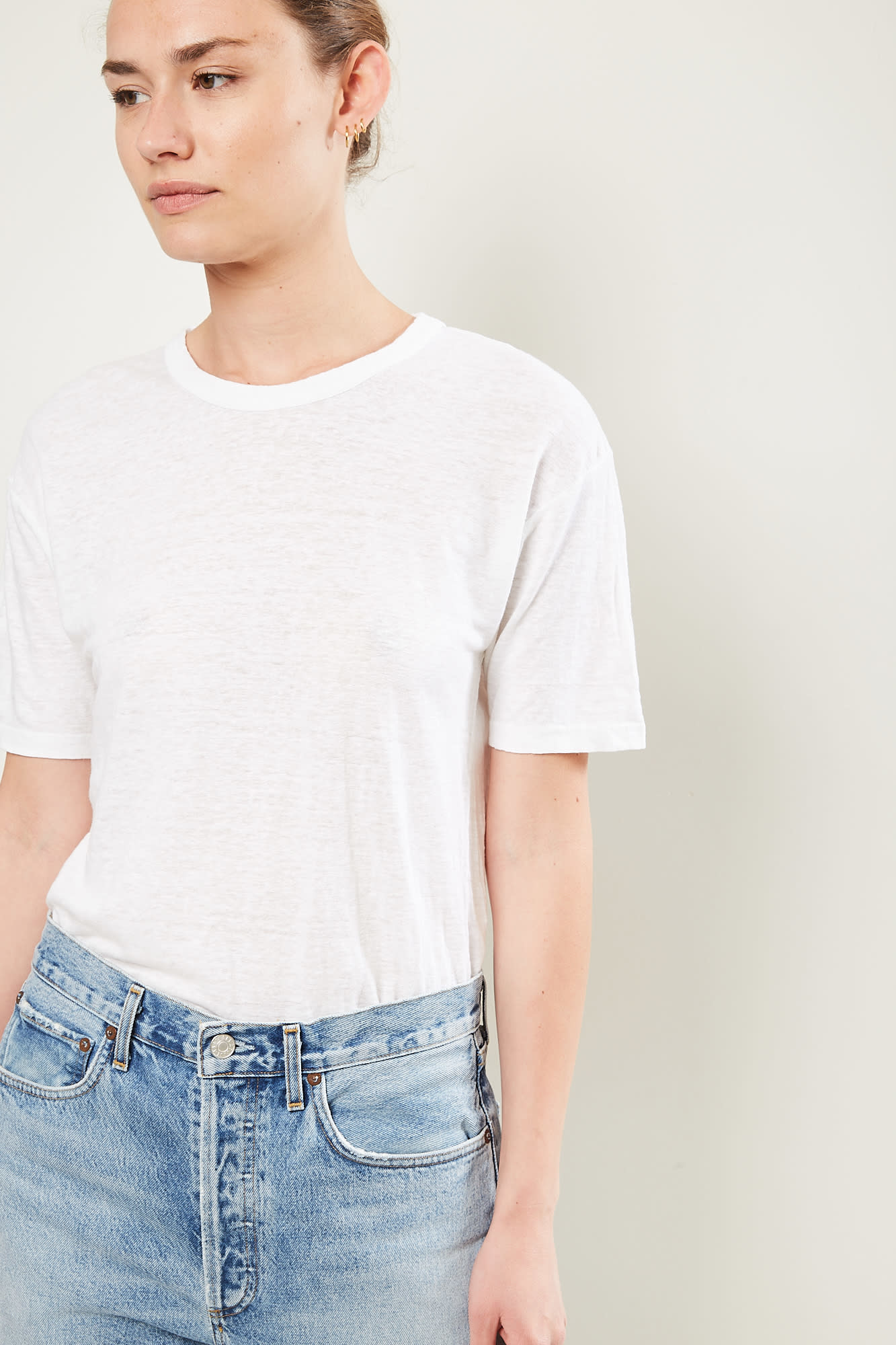 Etoile Isabel Marant keiran tee shirt 20wh white