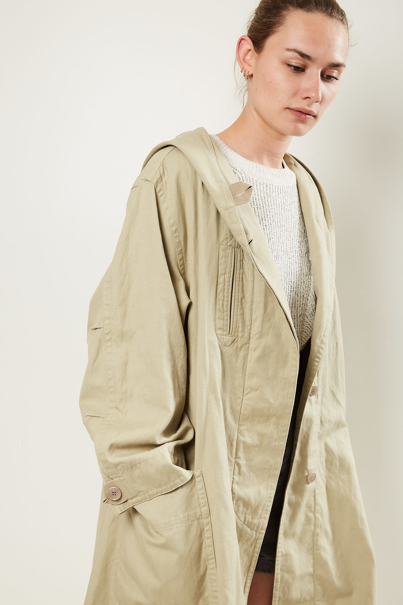Etoile Isabel Marant Rafael cotton trench coat