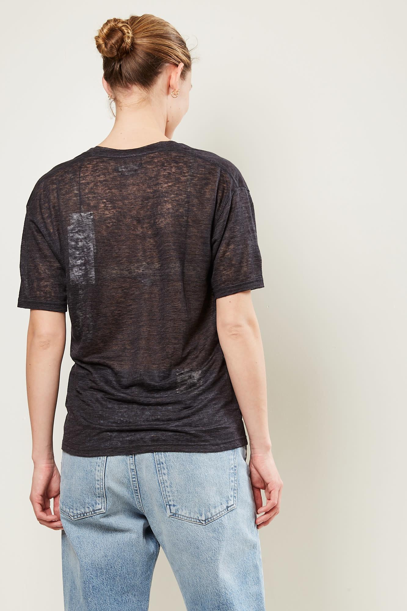 Isabel Marant - Maree soft tee shirt black