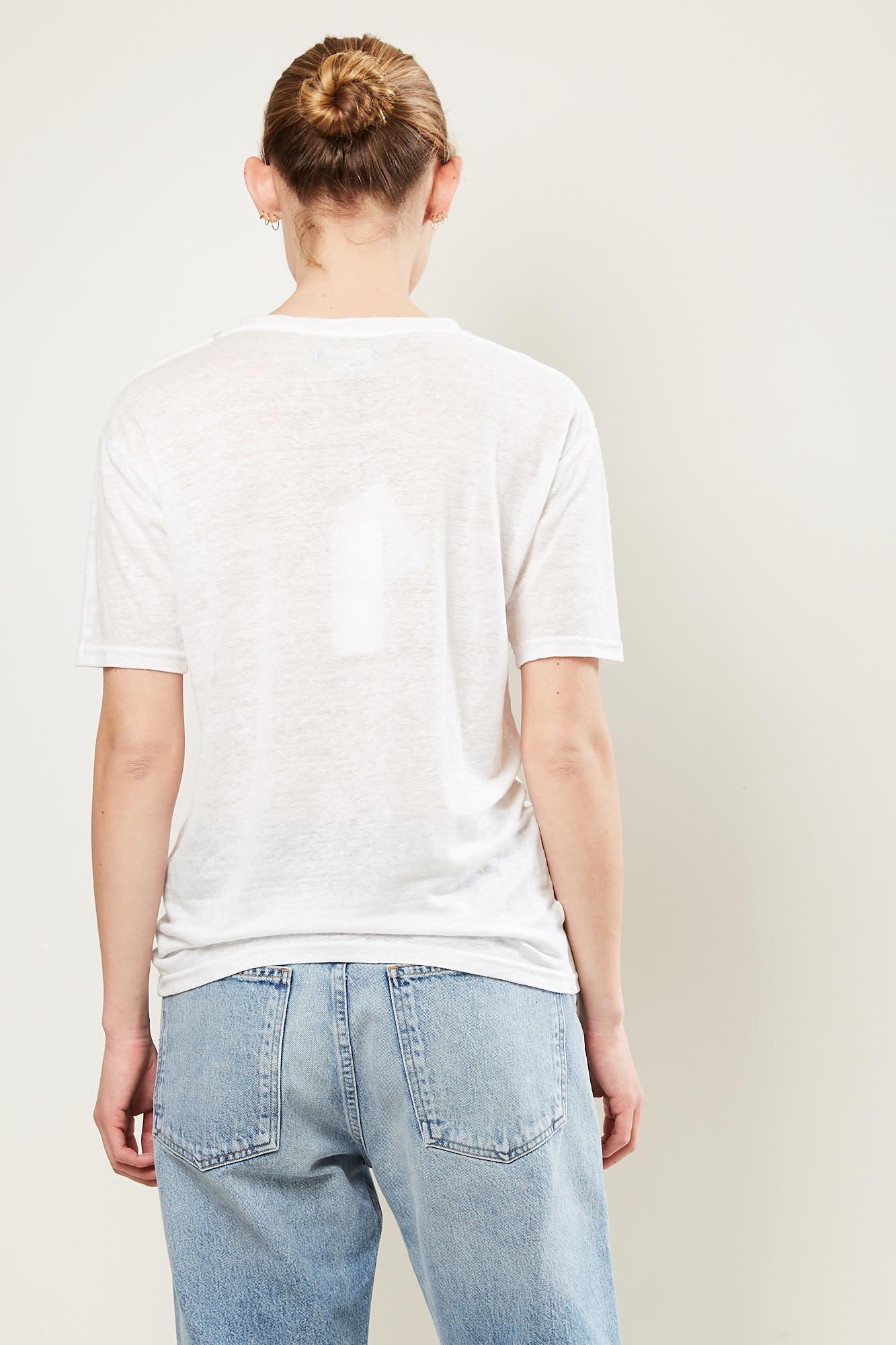 Isabel Marant - madjo tee shirt white