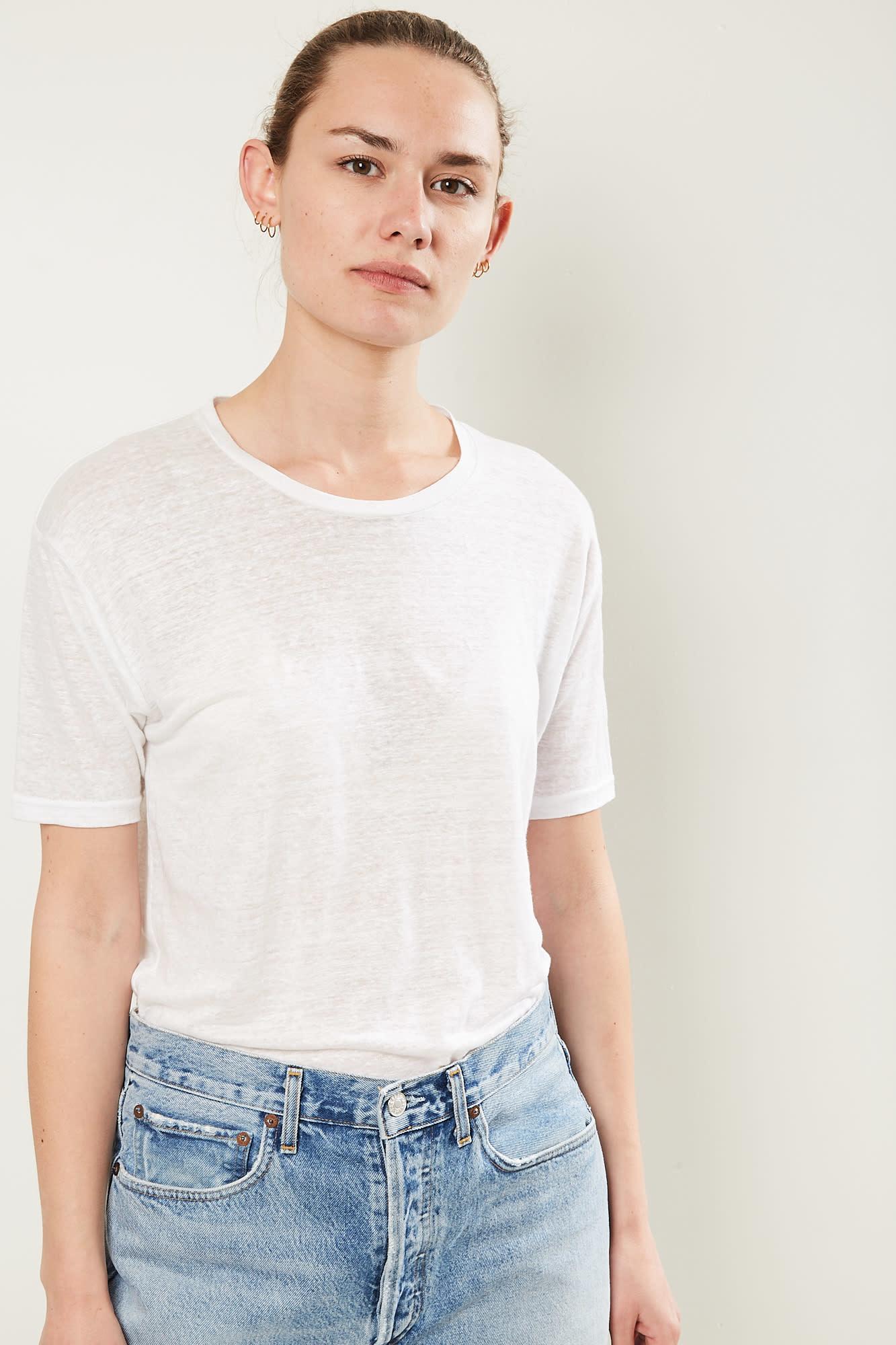 Isabel Marant madjo tee shirt white