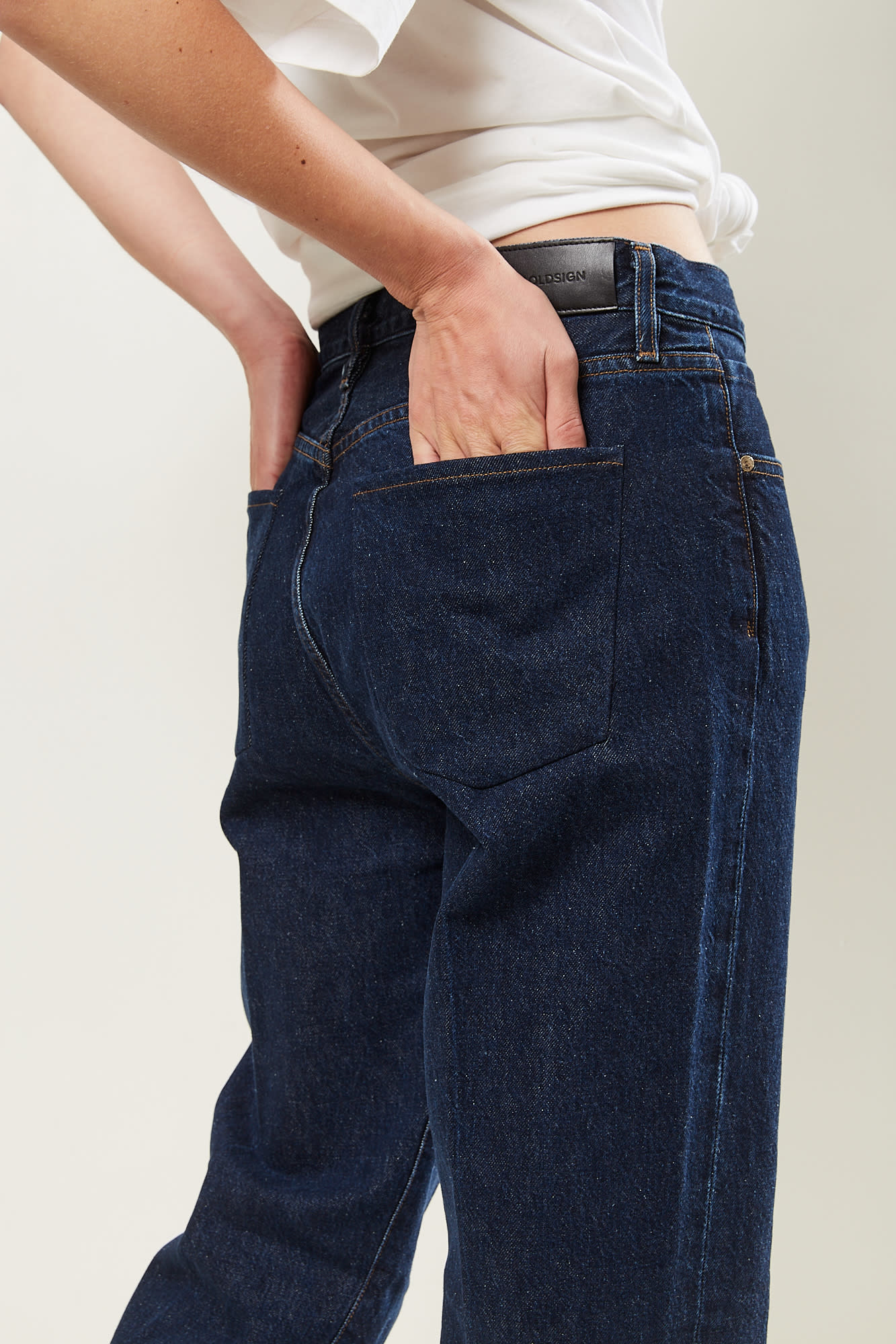 Goldsign - 90's classic straight-leg jeans