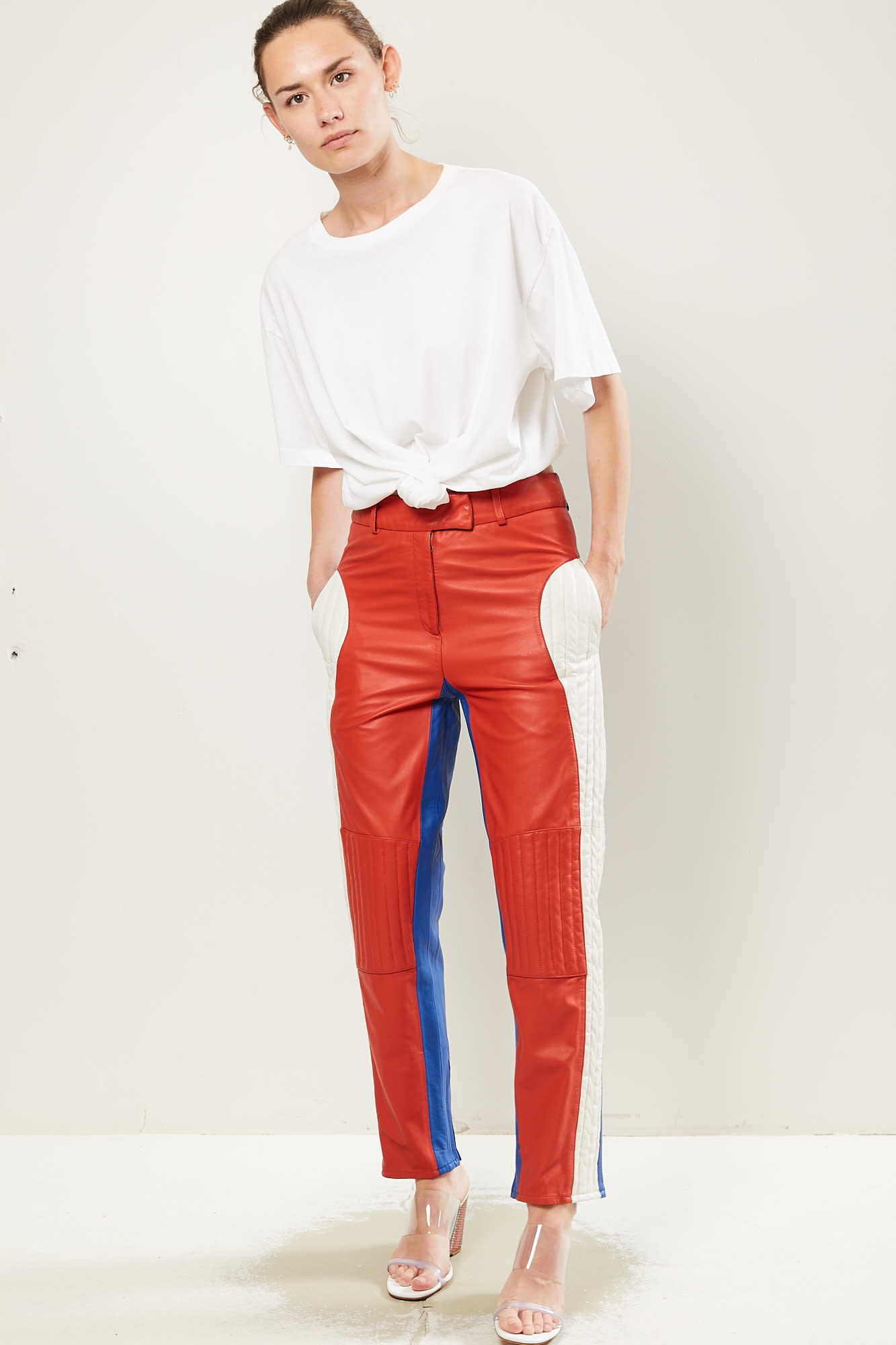 Frenken Belair leather trousers