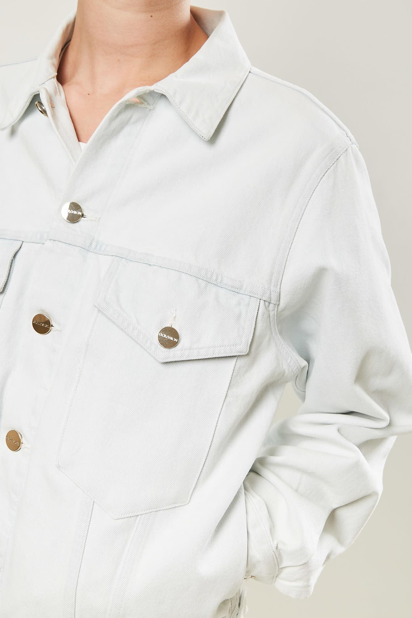 Goldsign - the morton jacket blue fade
