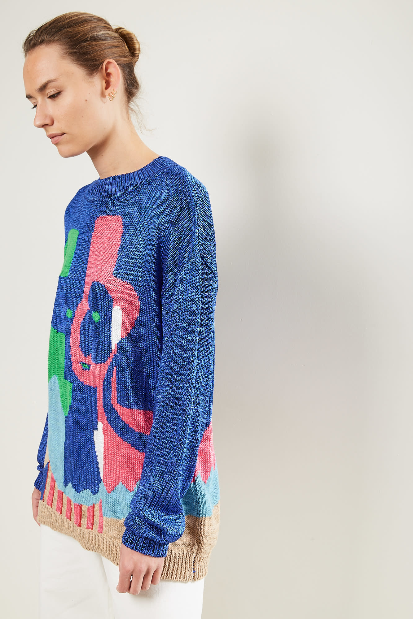 Survival of the fashionest - Pablo big Picassso's Pierot sweater