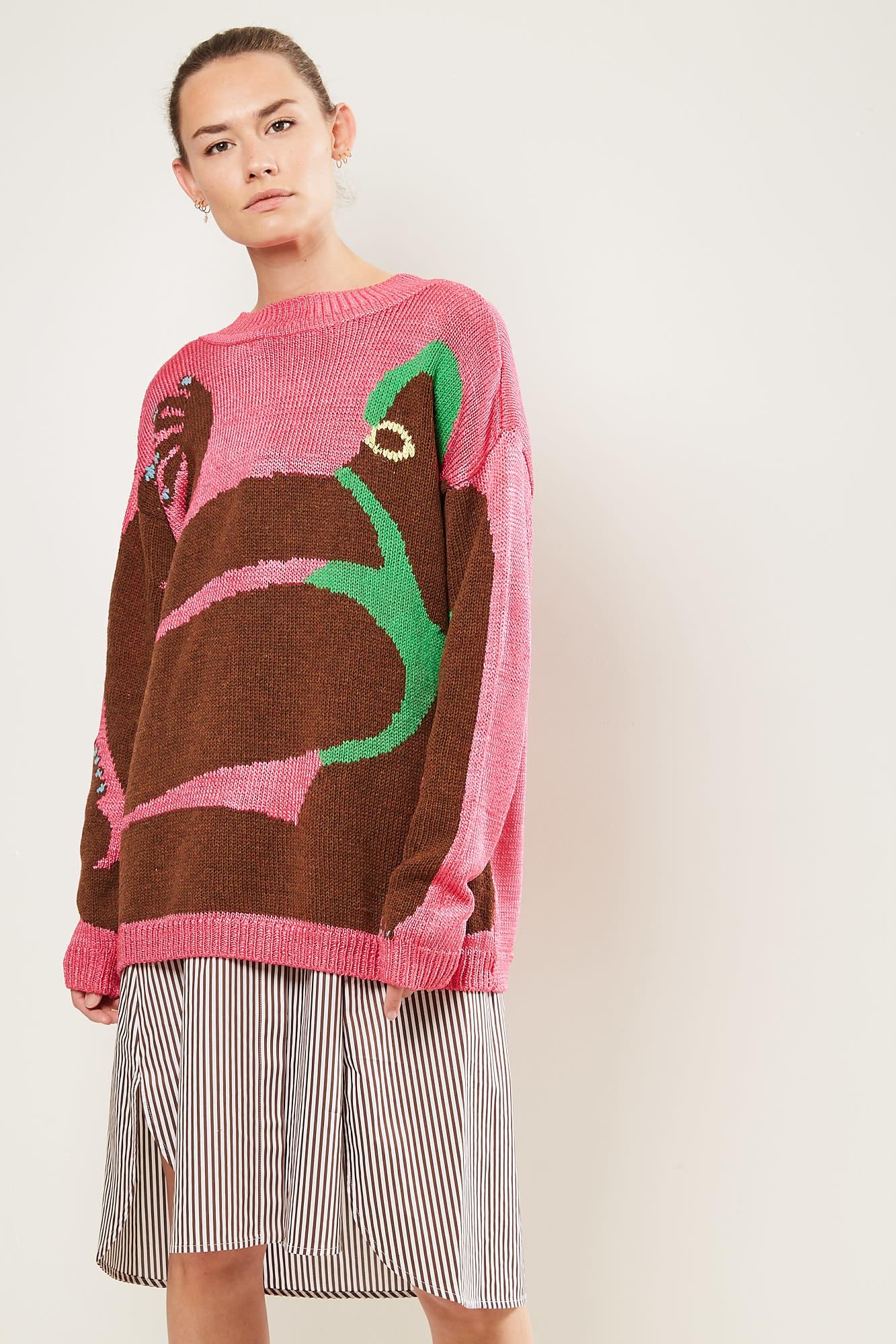 Survival of the fashionest - Amber big Vittoria's full bodies sweater