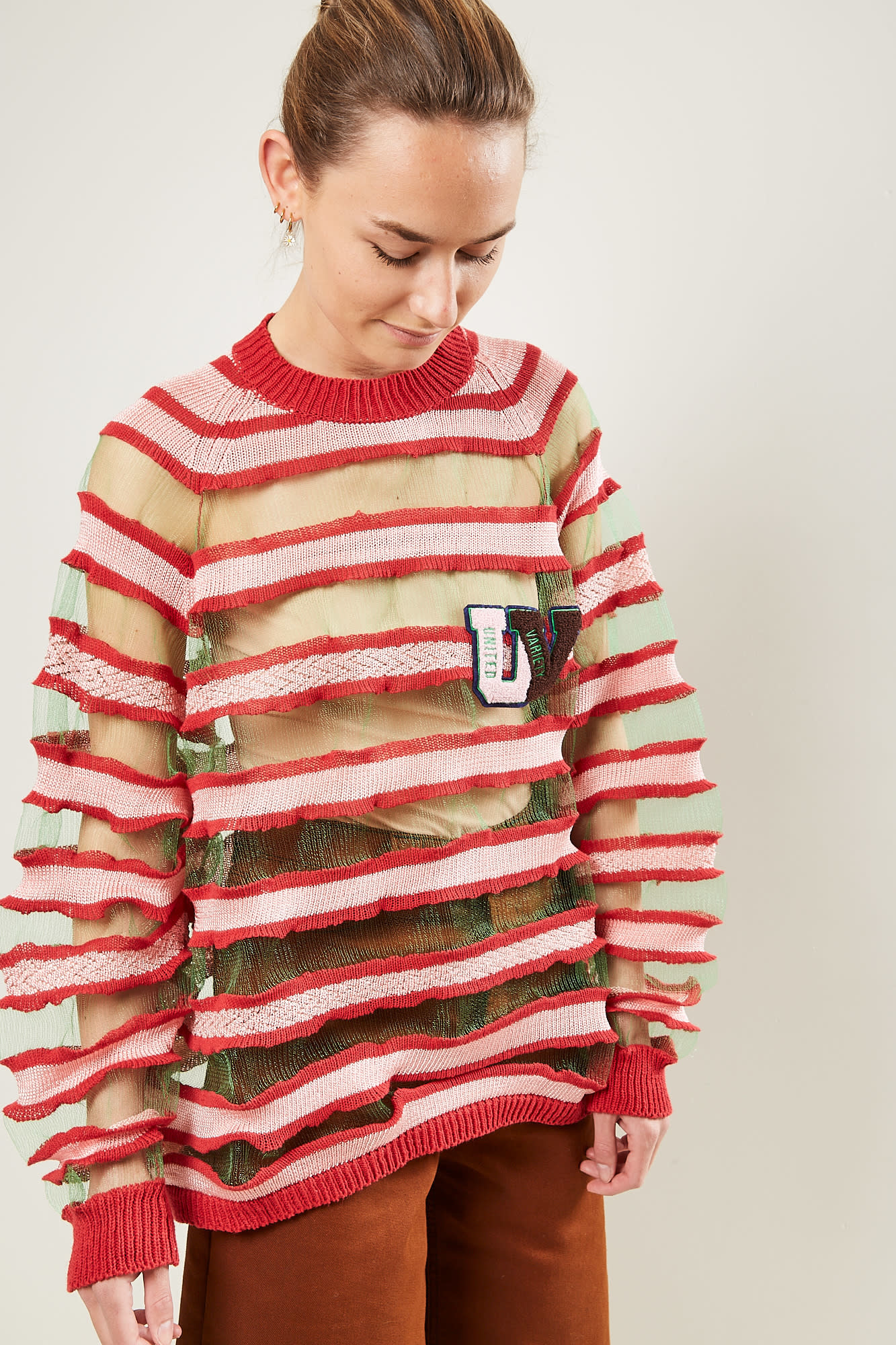Survival of the fashionest - Skins stripes big sweater