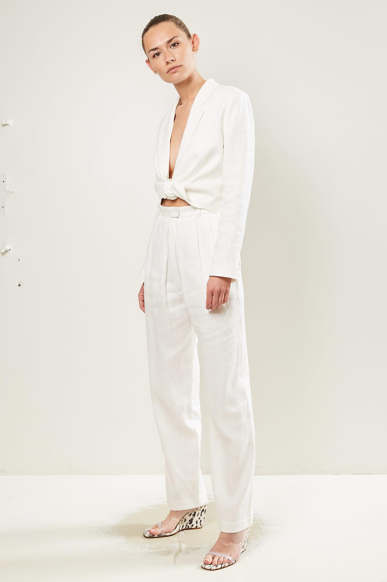 Mara Hoffman - Eldora solid woven pant