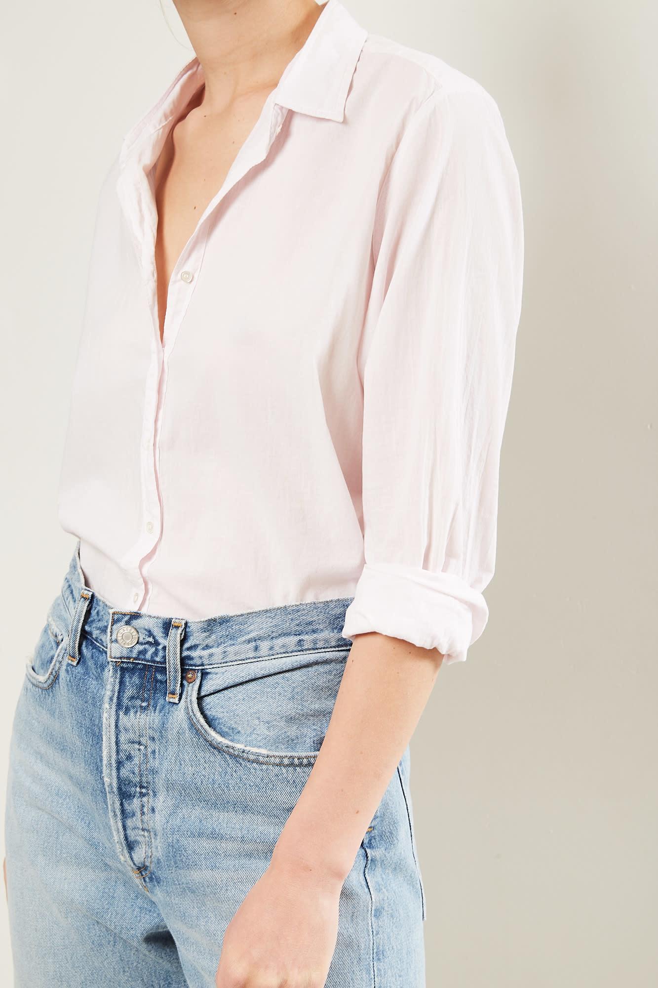 Xirena Beau cotton poplin shirt First Kiss