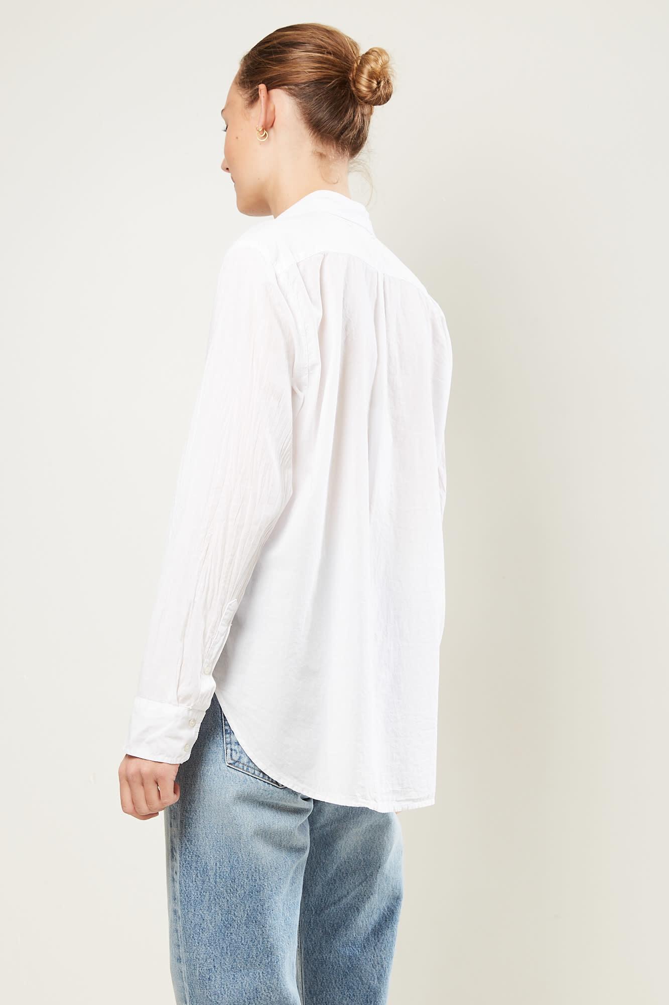Xirena - Beau cotton poplin shirt white