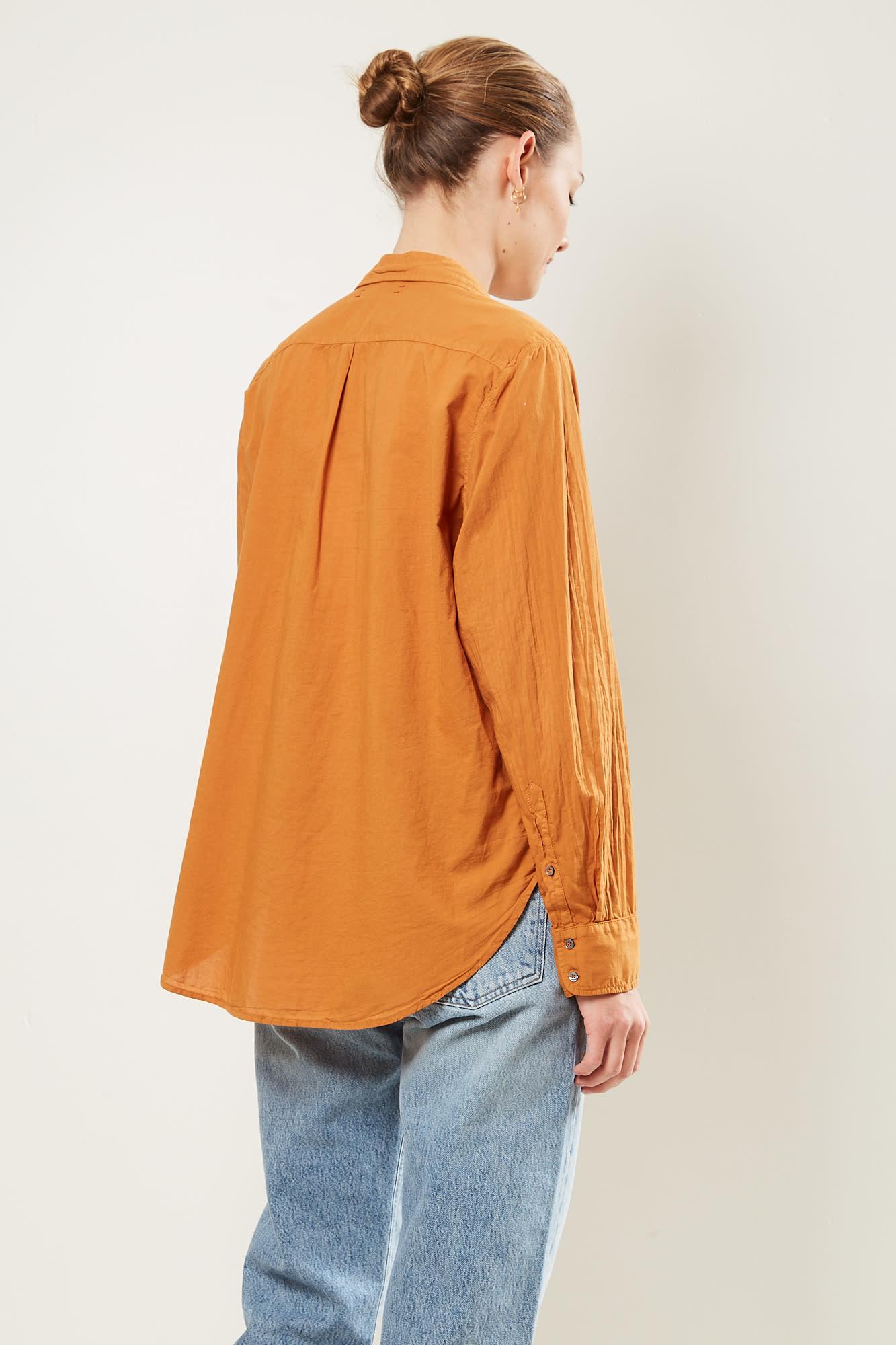 Xirena - Beau cotton poplin shirt golden