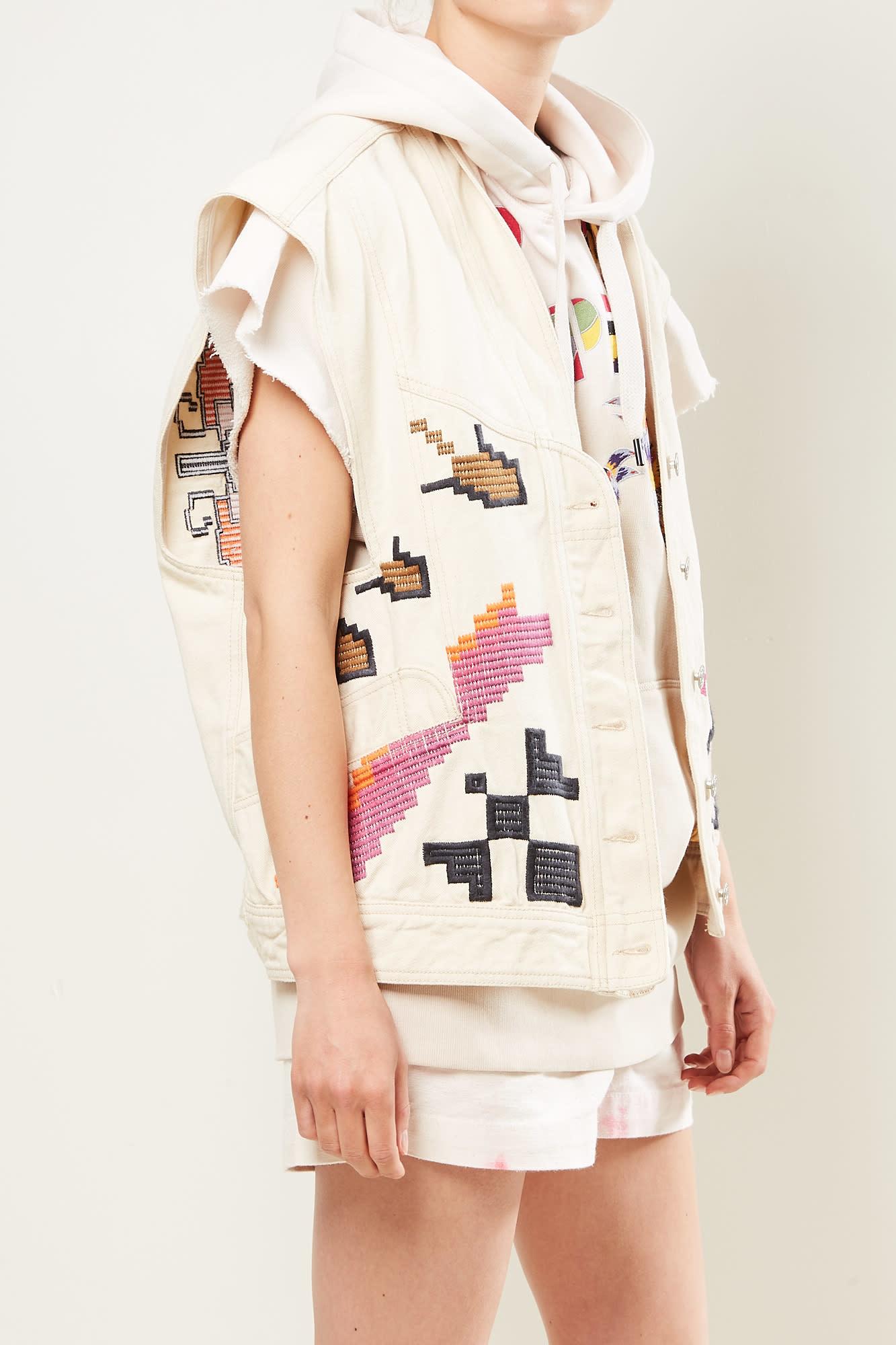 Isabel Marant Erilane embroidered jacket