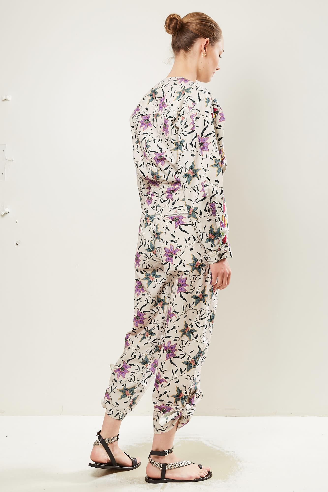 Isabel Marant - Gigi printed carioca overall