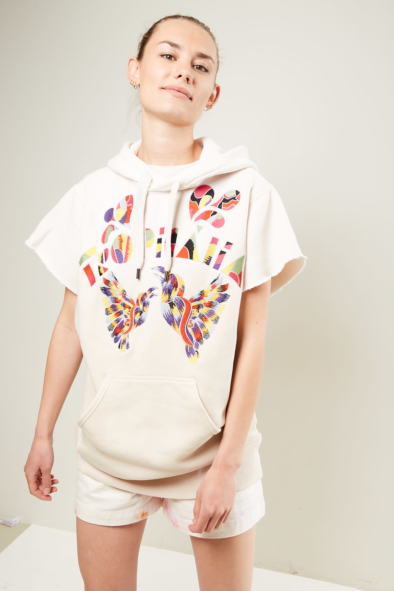 Isabel Marant - Miami show embroidered sweat shirt