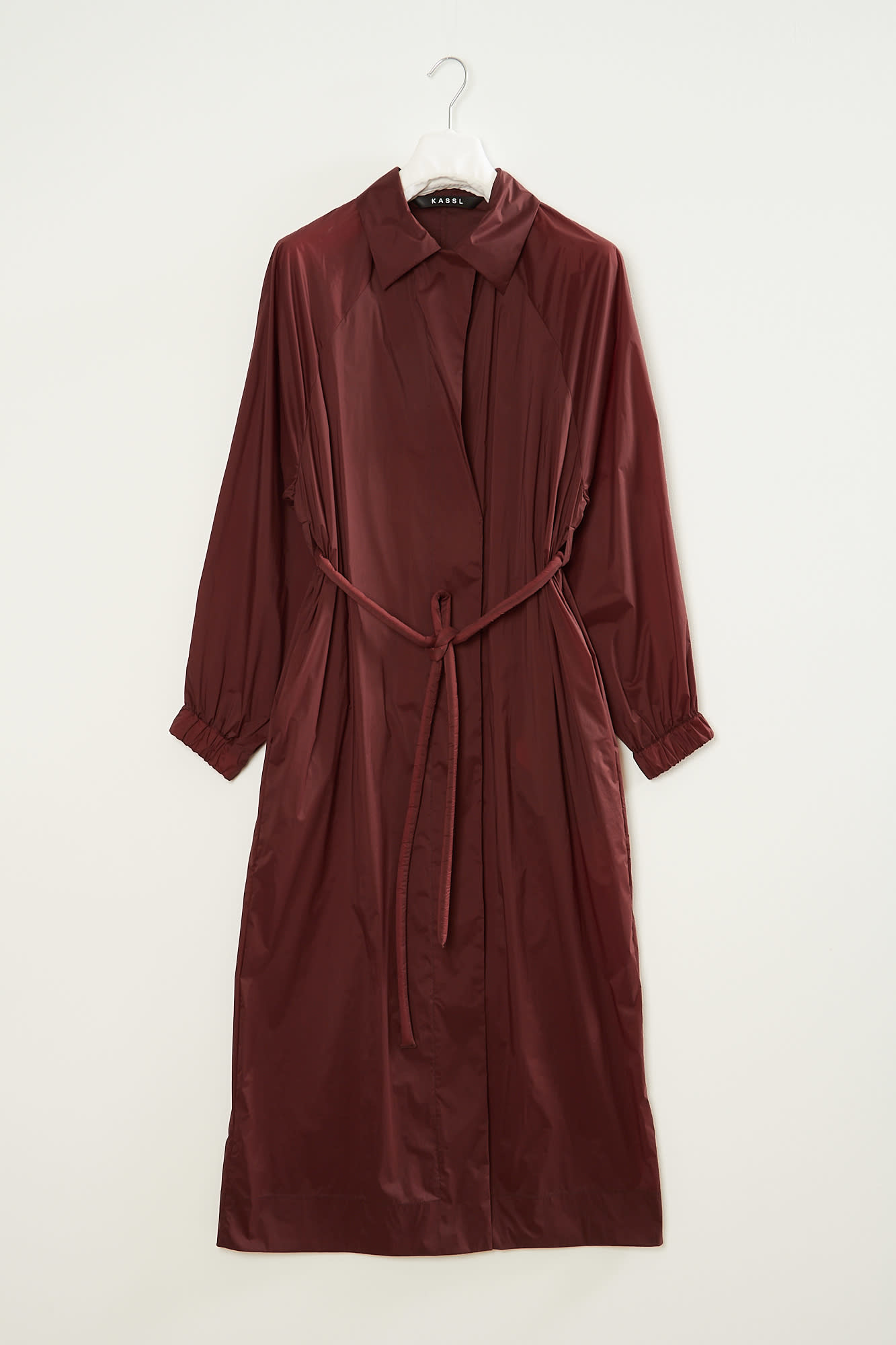 KASSL - Fluid belted trench coat