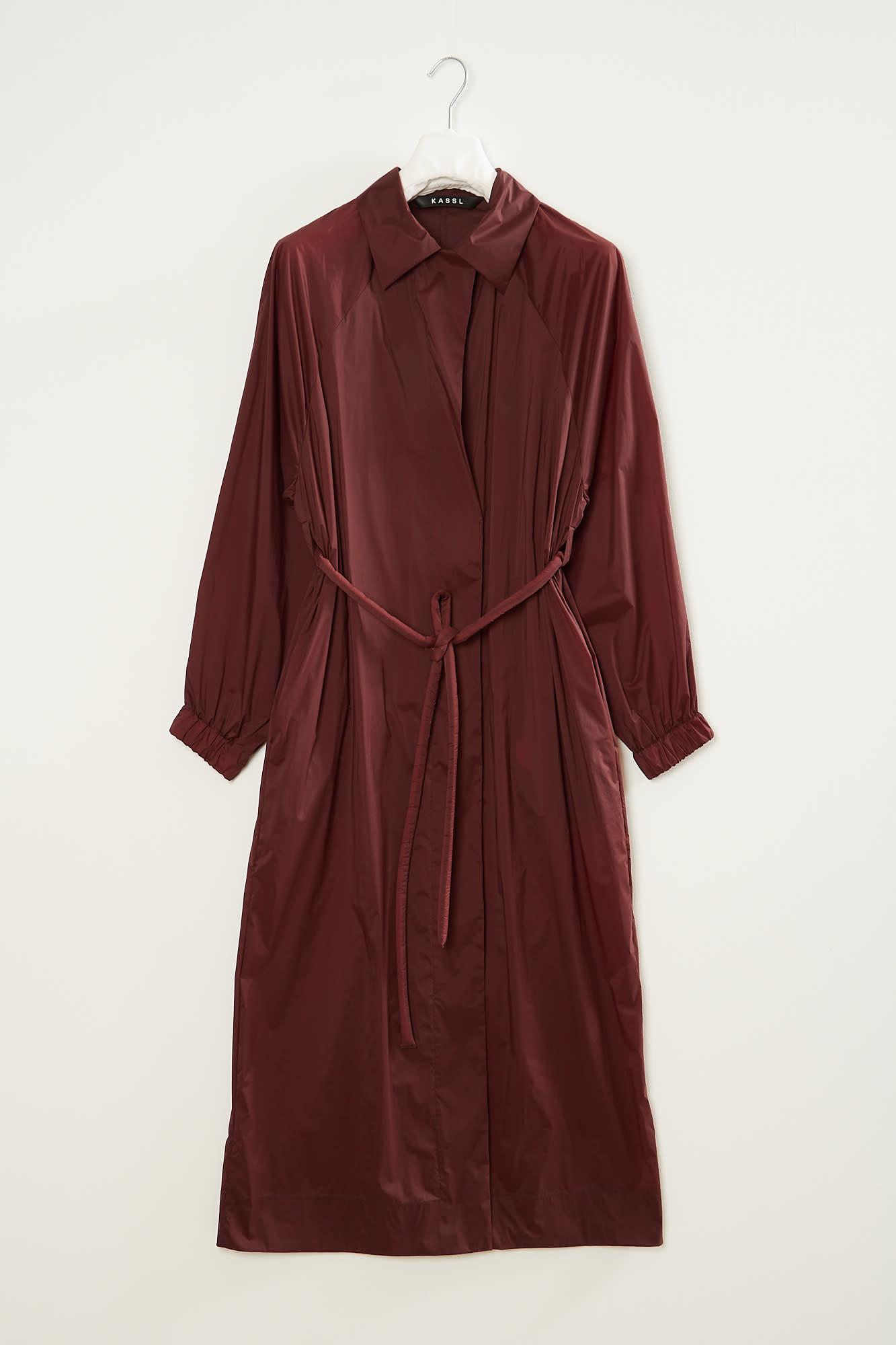KASSL Fluid belted trench coat