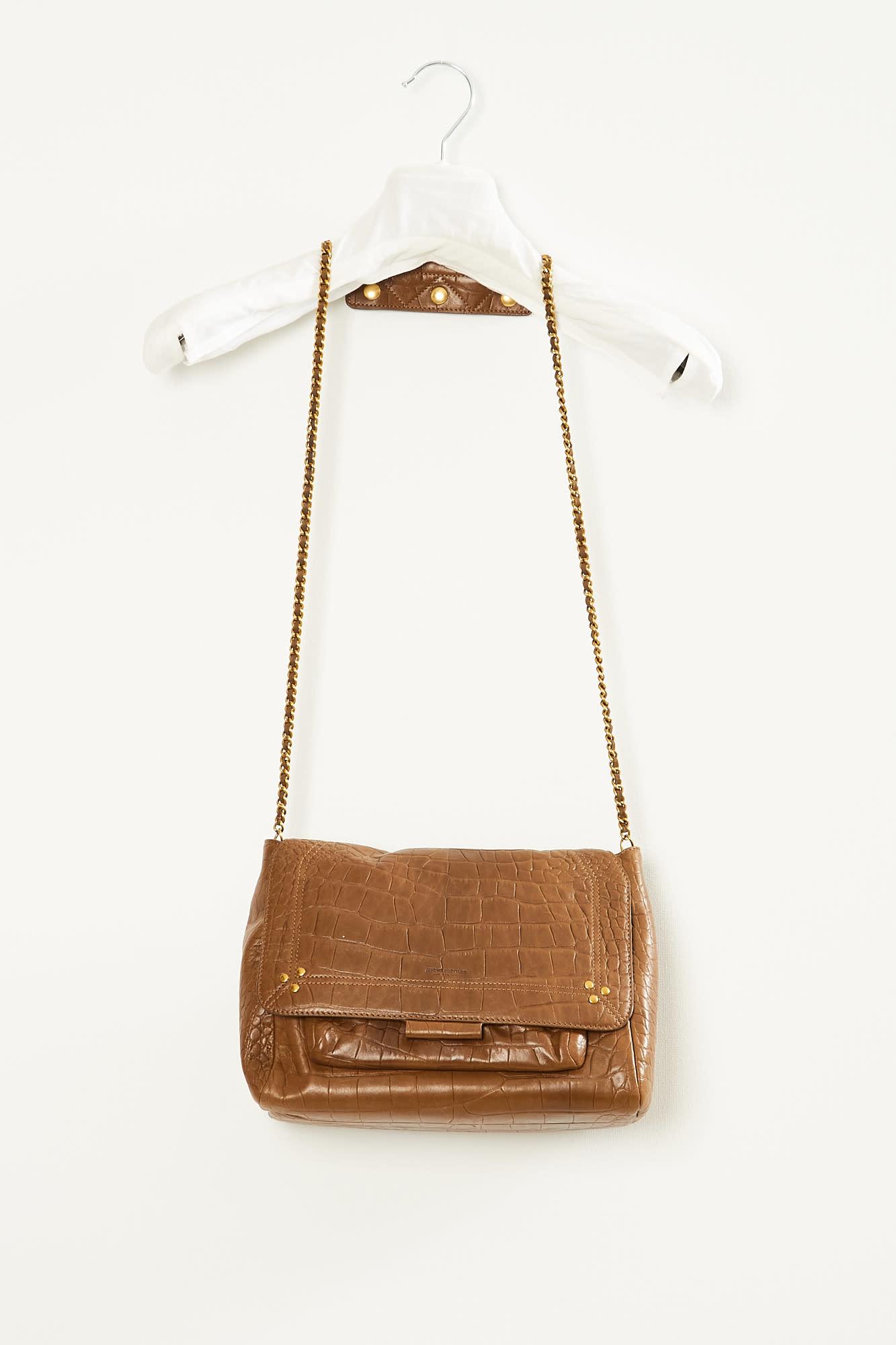 Jerome Dreyfuss - Lulu lamb and goat leather handbag