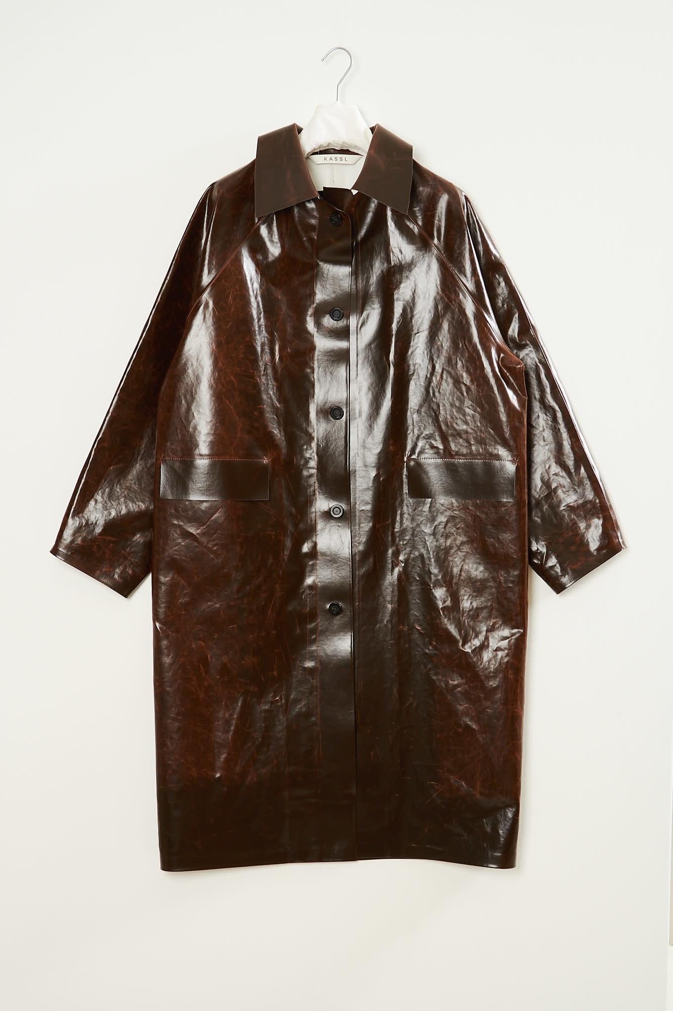 KASSL - Skai button down trench coat