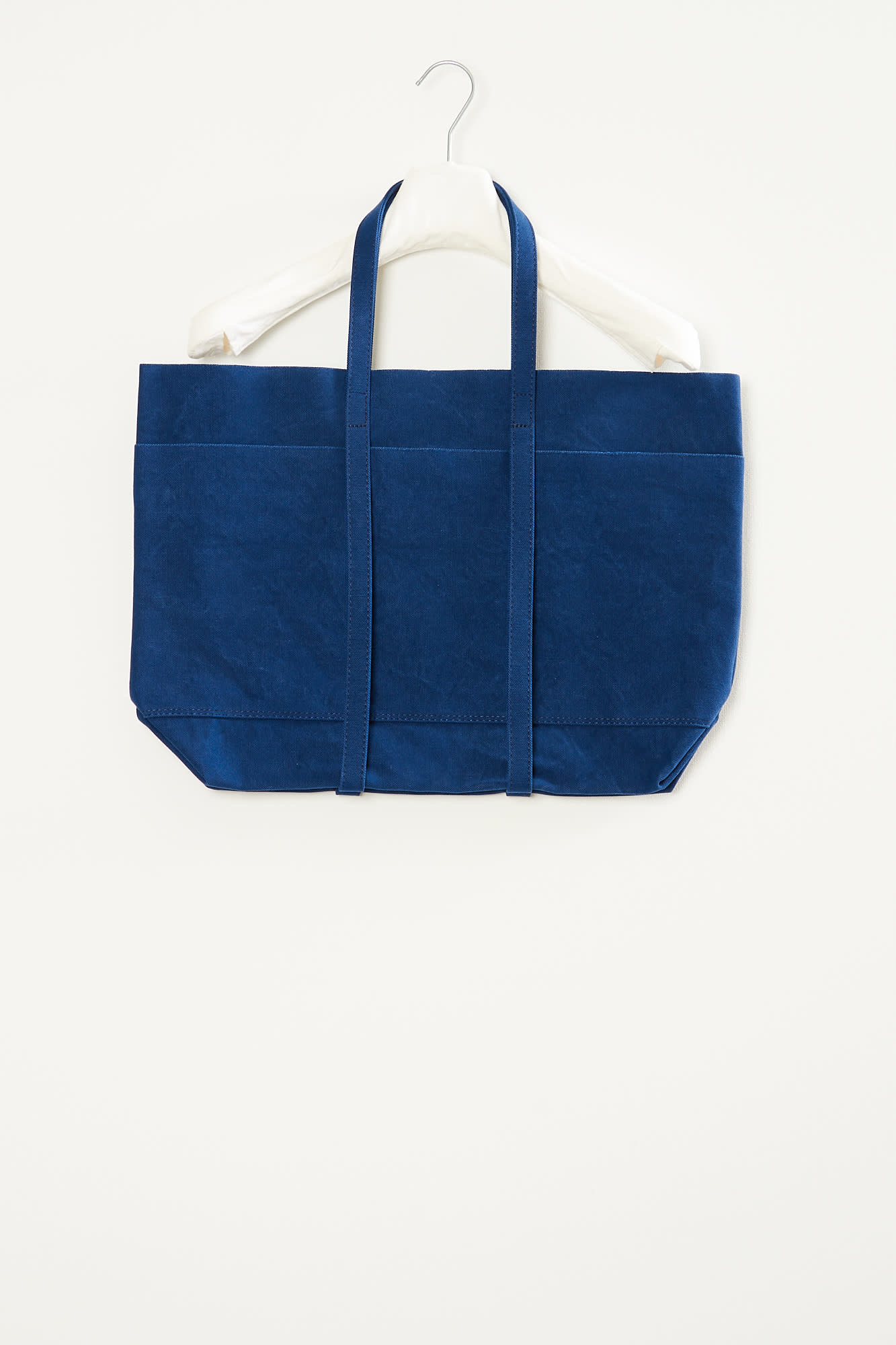 Amiacalva Washed canvas 6 pocket tote medium