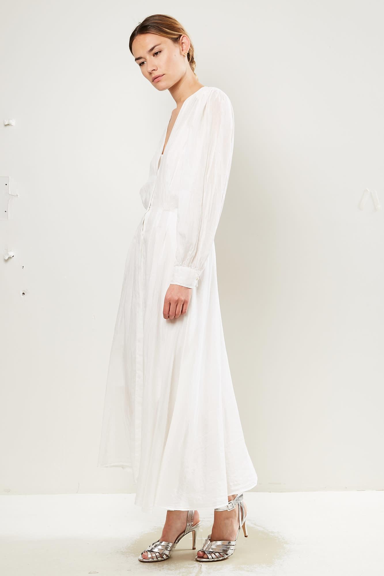 Forte Forte Cotton silk voile dress