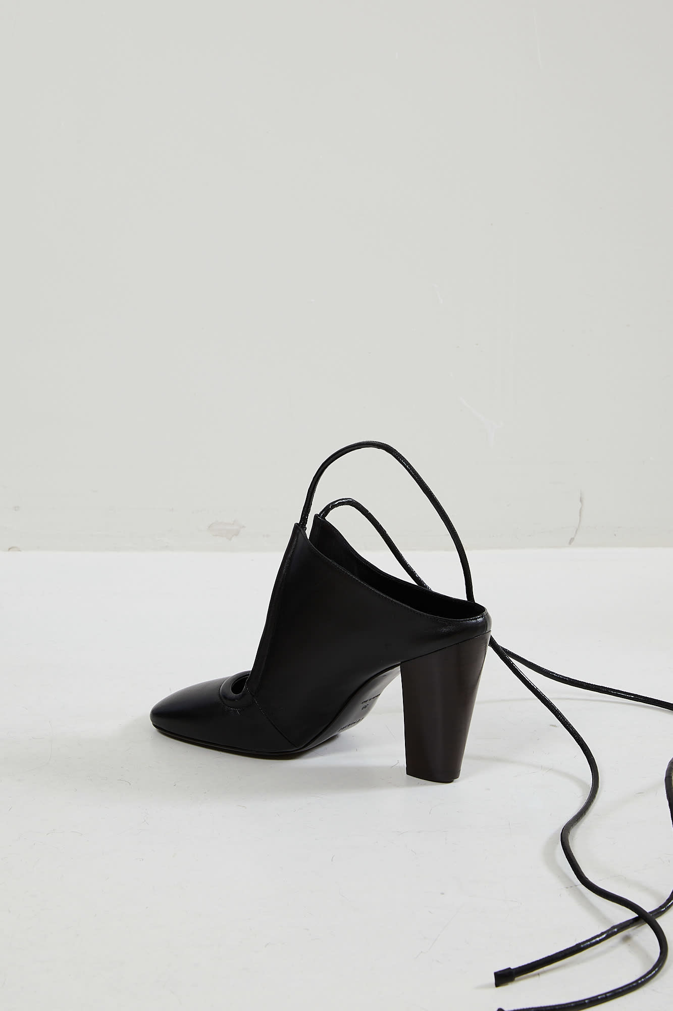 Lemaire - High heeled laced sandals