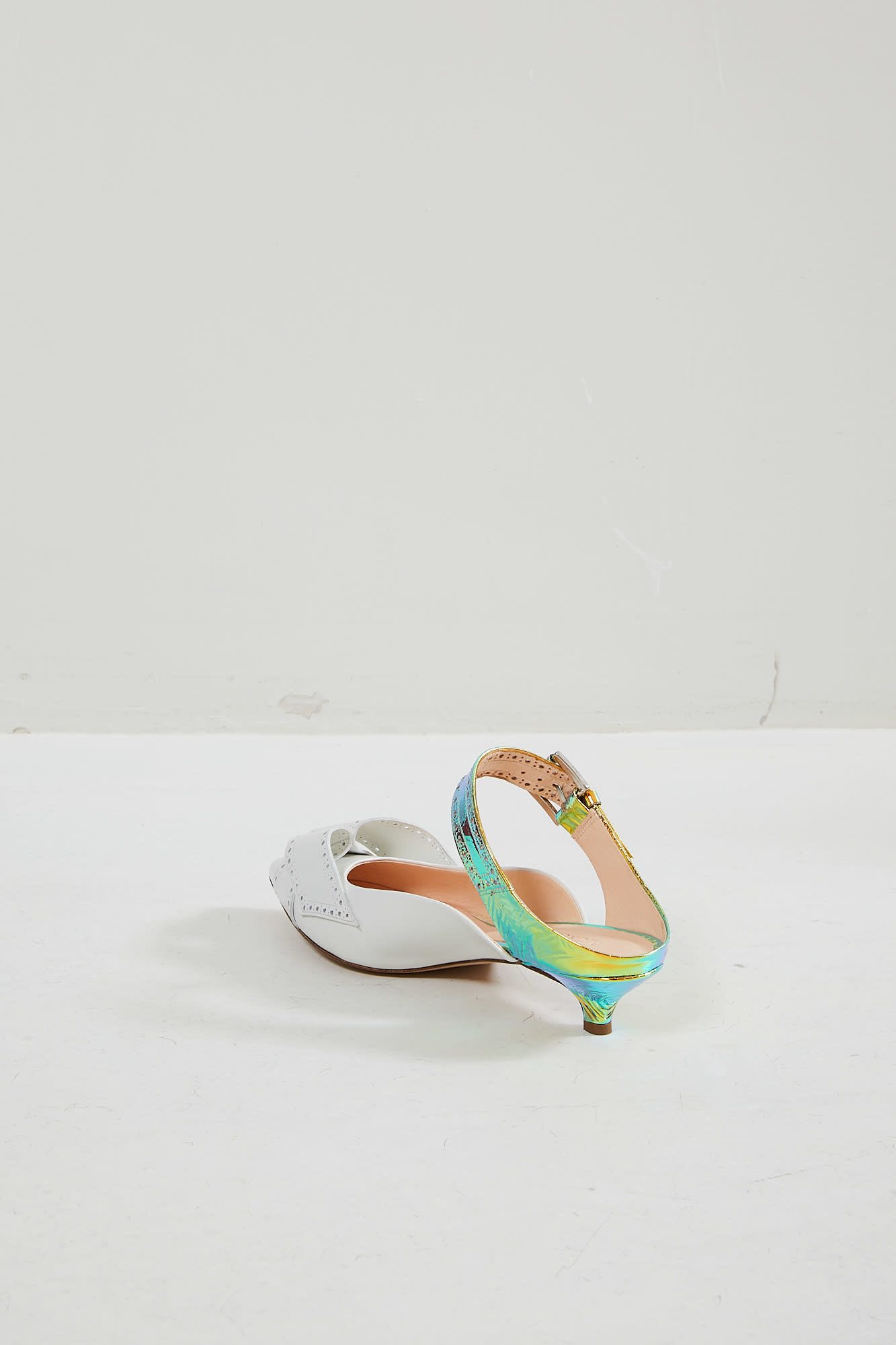 Morobé - Jaclyn leather laminated mules
