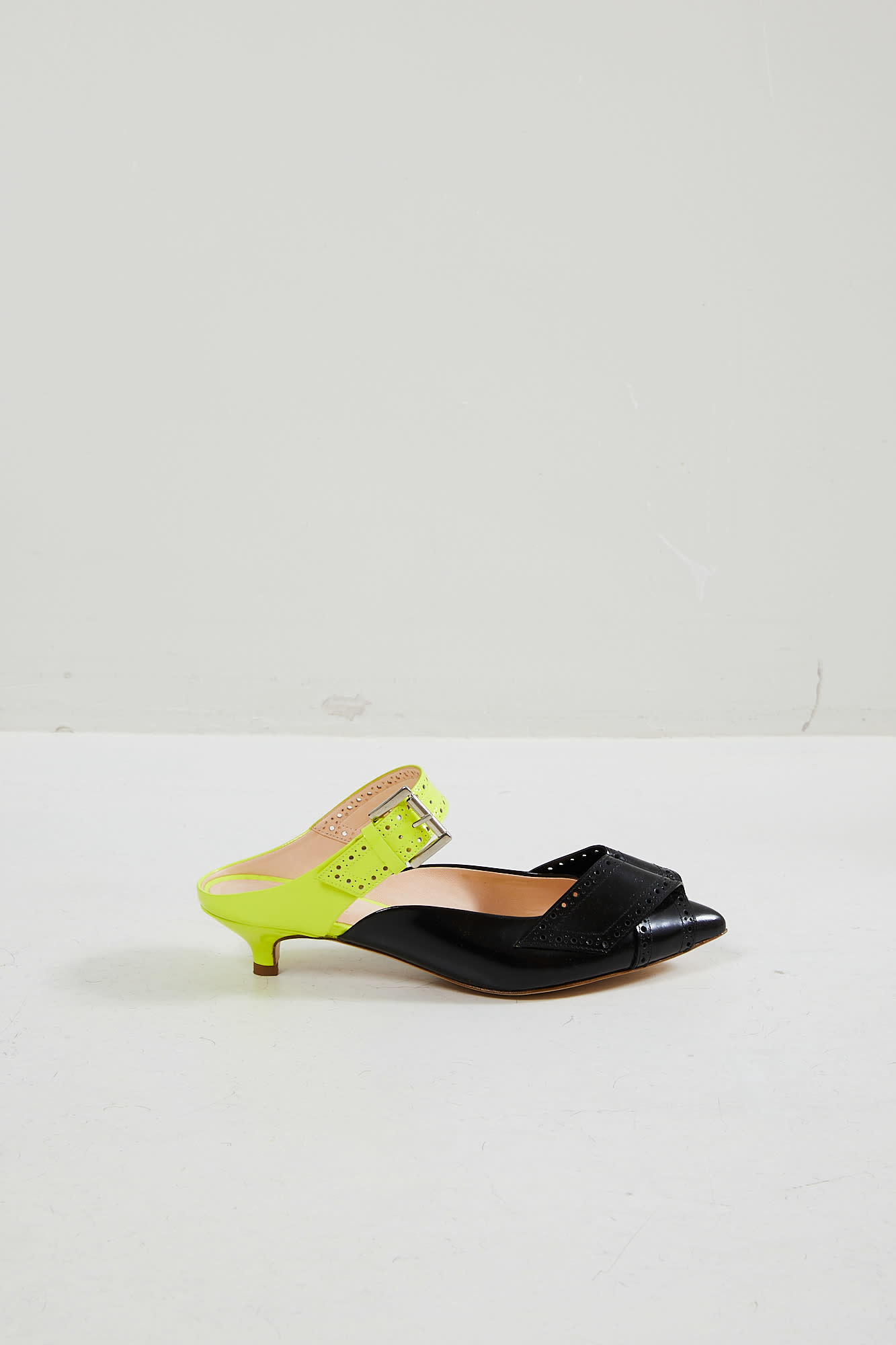 Morobé - Jaclyn polished leather mules