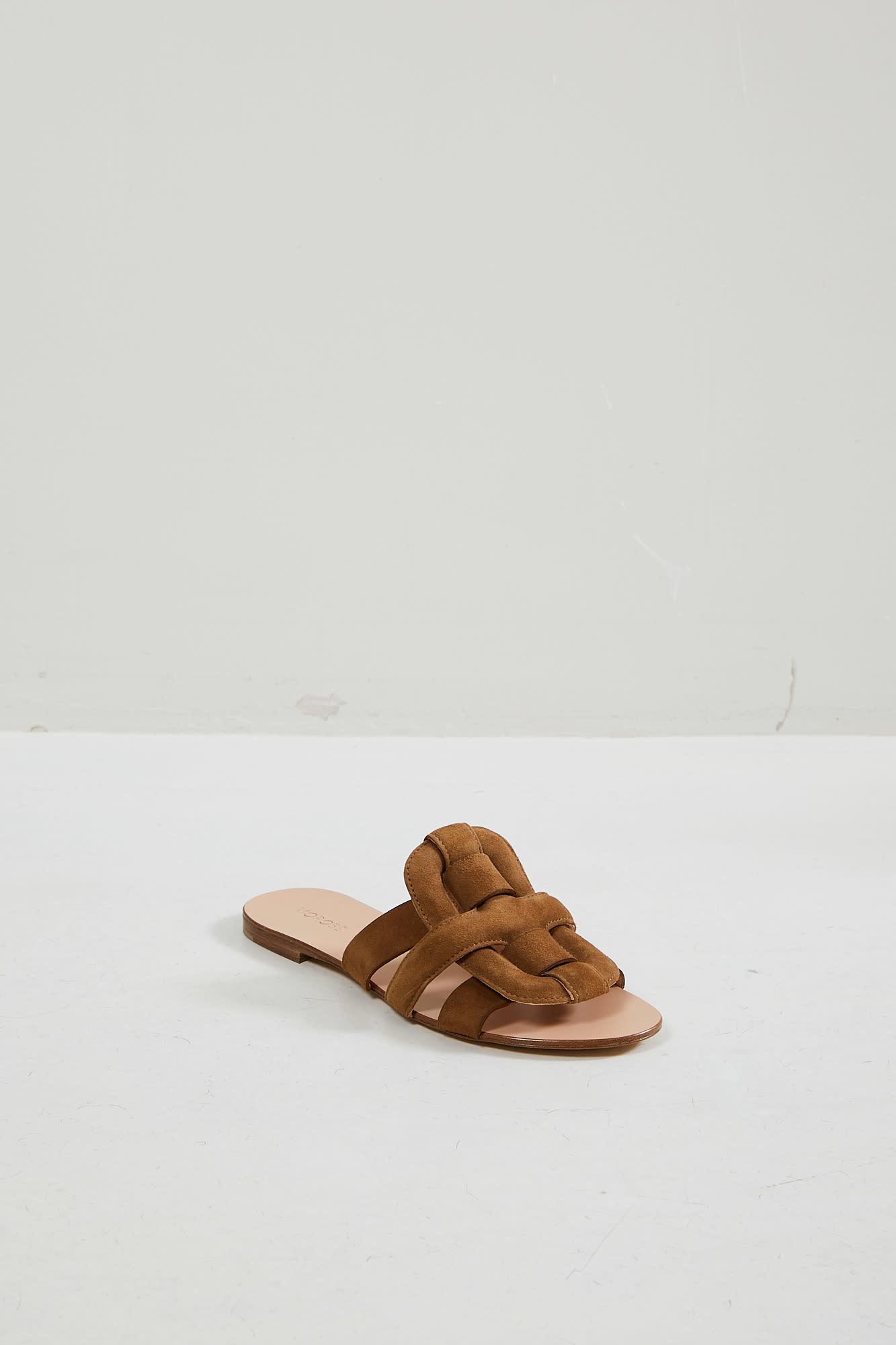 Morobé Robien suede sandal