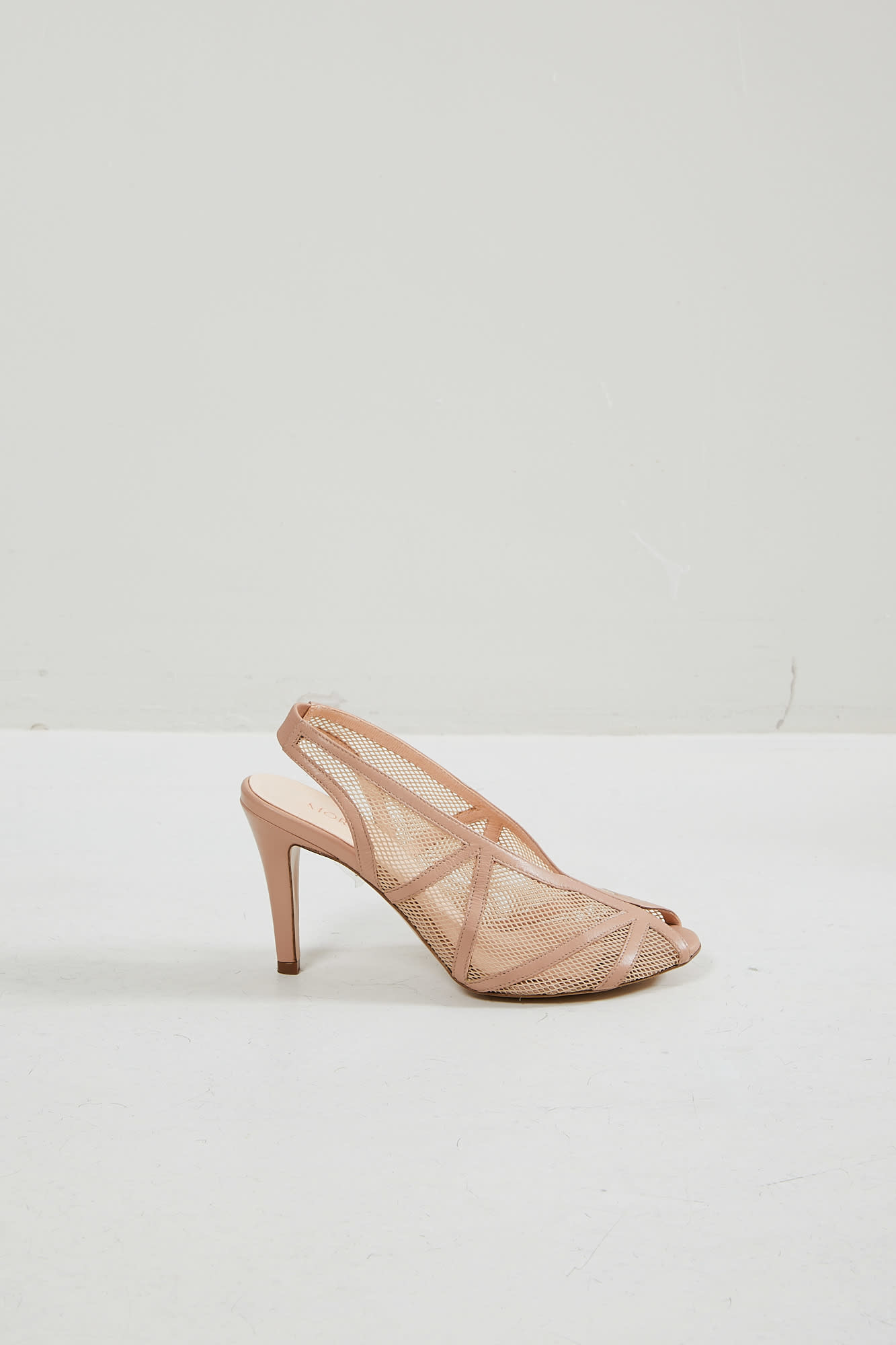 Morobé - Isaure textile leather sandal