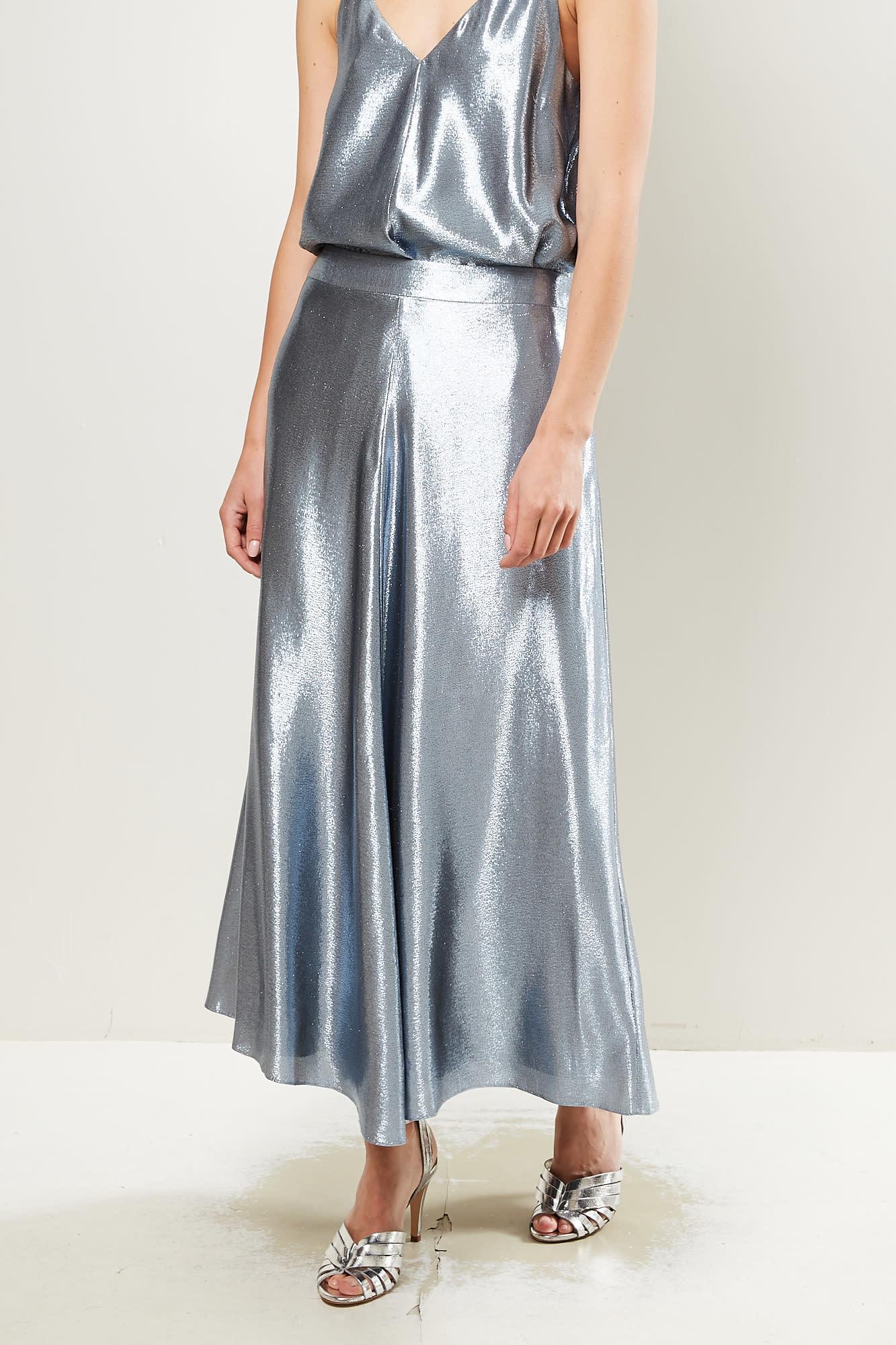 inDRESS Lurex skirt