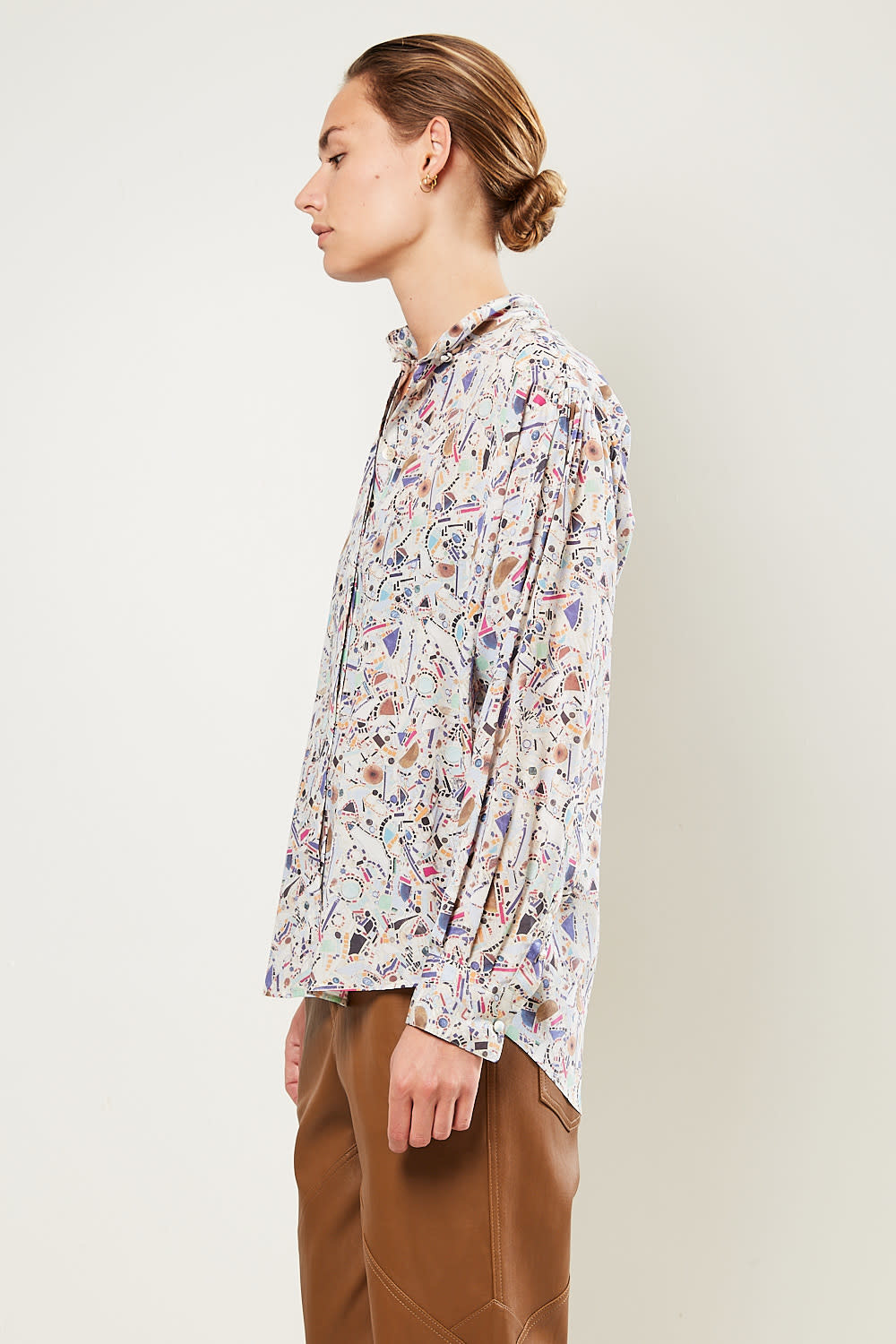 Isabel Marant - Cade printed stretch top