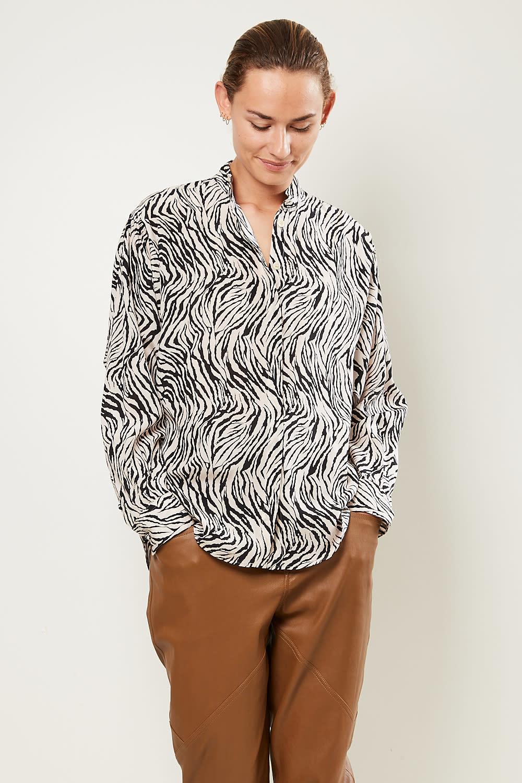 Isabel Marant - Cade printed stretch top