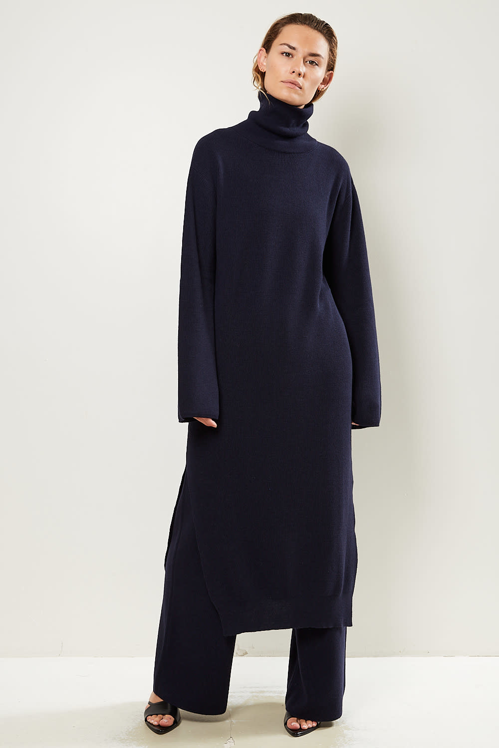 Nanushka - Canaan recycled cashmere knit dress