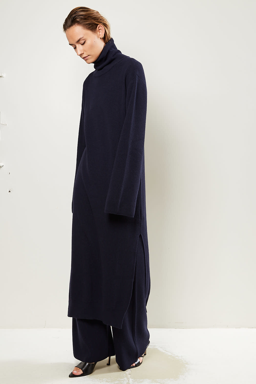 Nanushka Canaan recycled cashmere knit dress