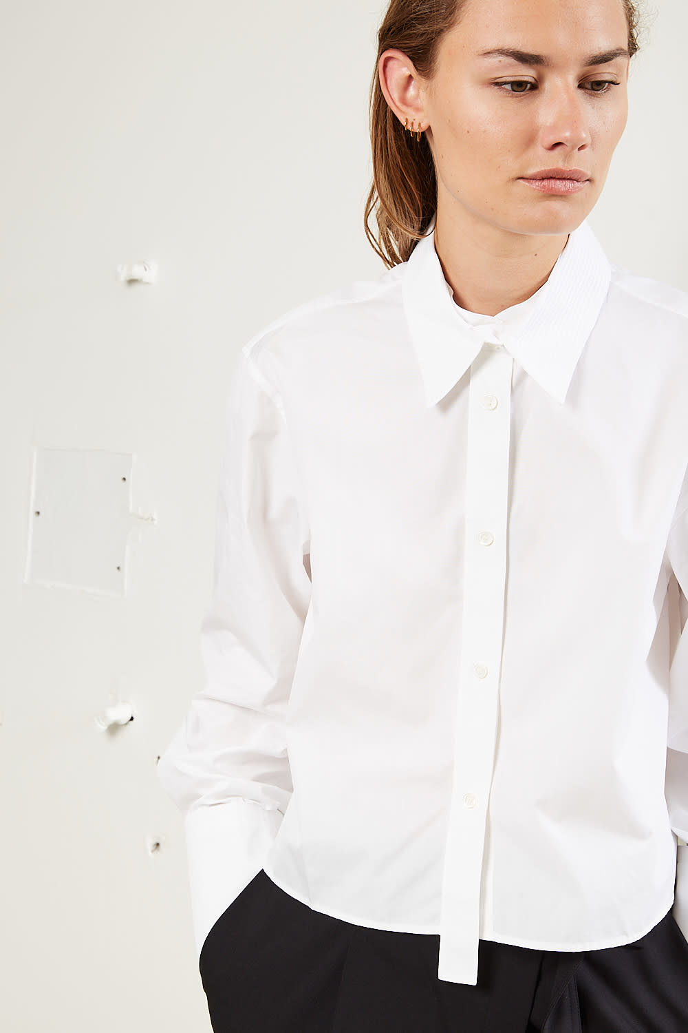 Helmut Lang - Cropped shirt
