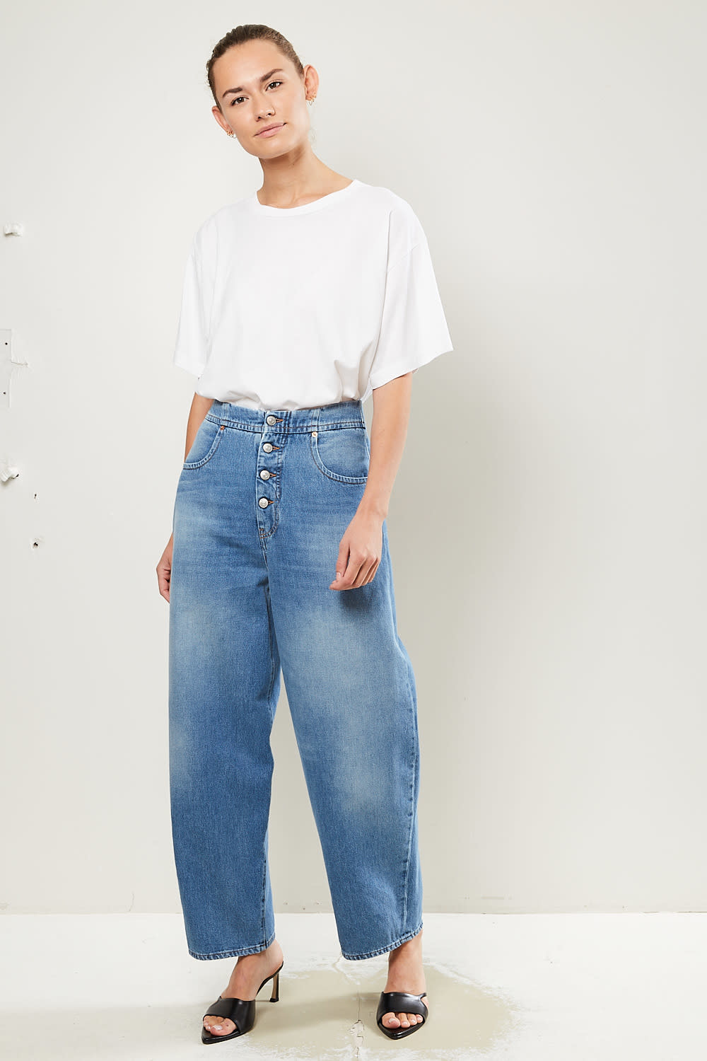MM6 Front button jeans MM6